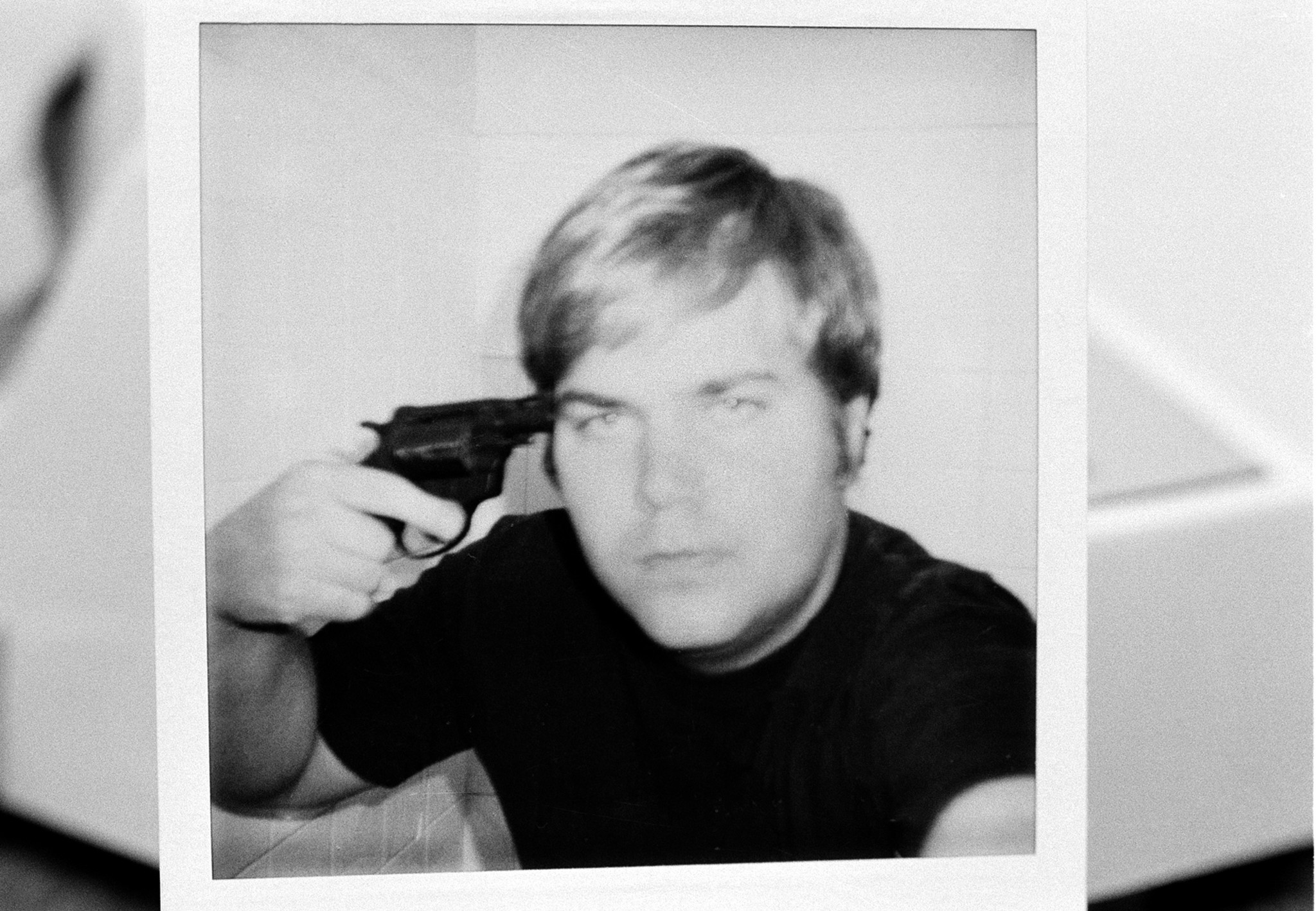 This image of John Hinckley Jr. was used as evidence during his trial.