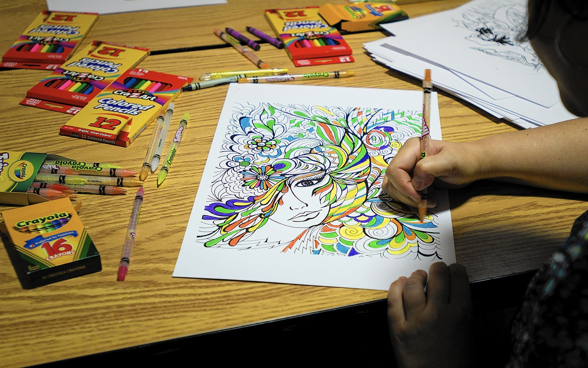 Baltimore County Libraries To Host National Coloring Book Day
