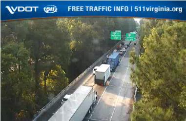 Crash on I-64 east cleared, 3-mile backup remains - The Virginia Gazette