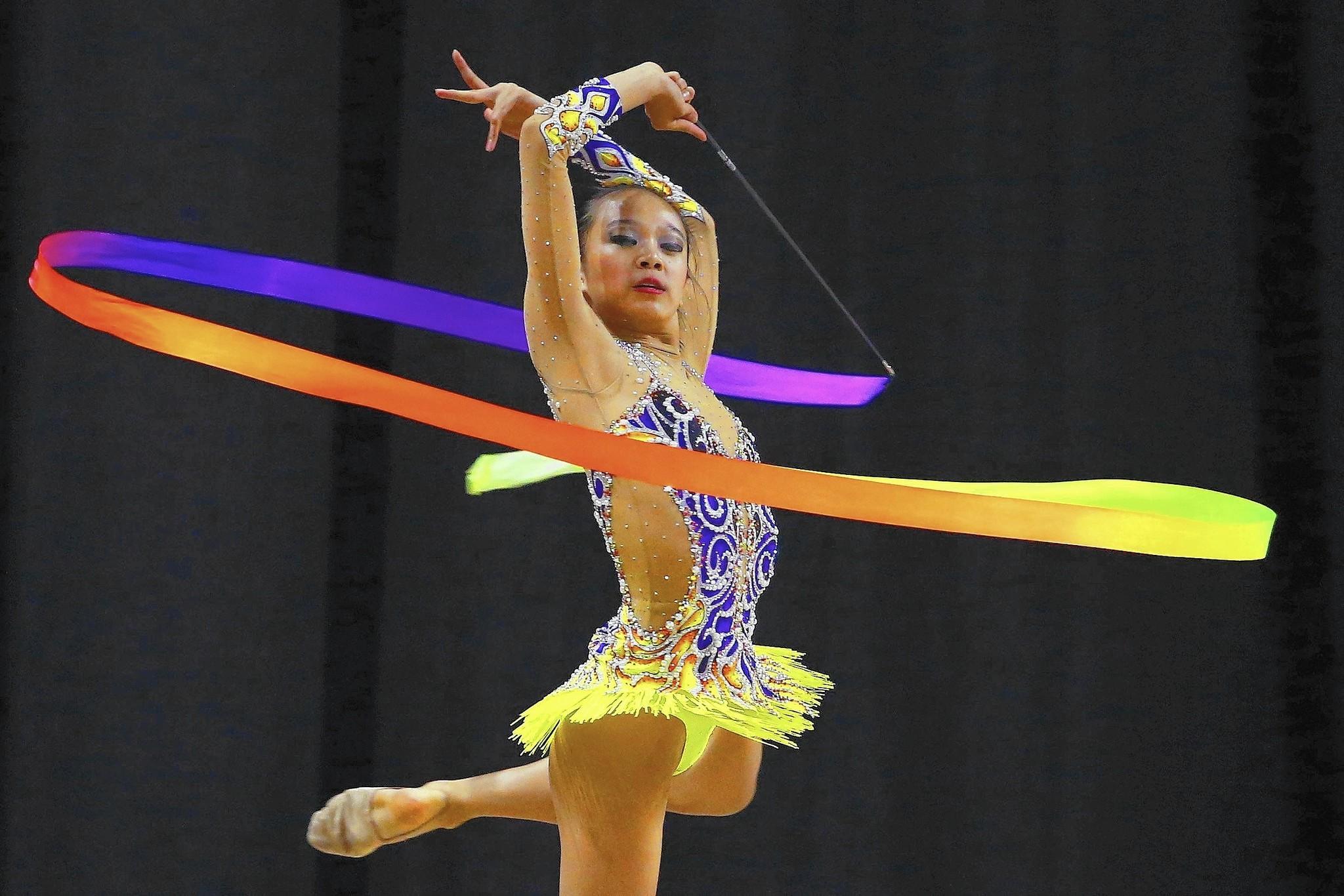 Great Britain Rhythmic Gymnastics Celebration Night. Photo