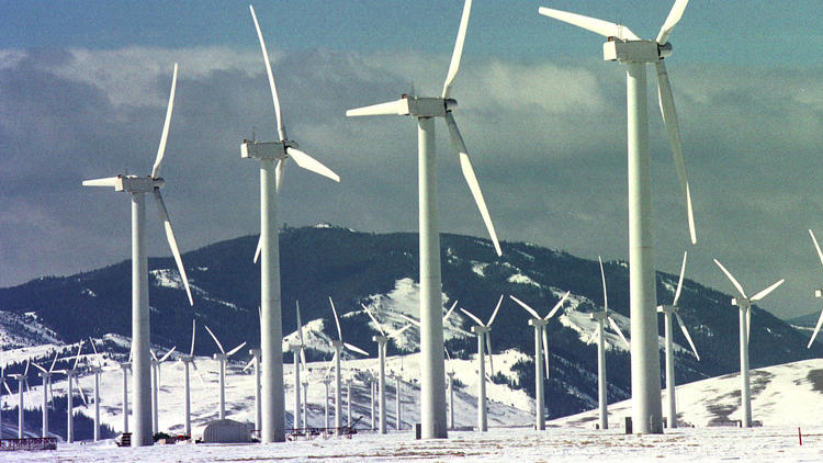 Wyoming wind farm