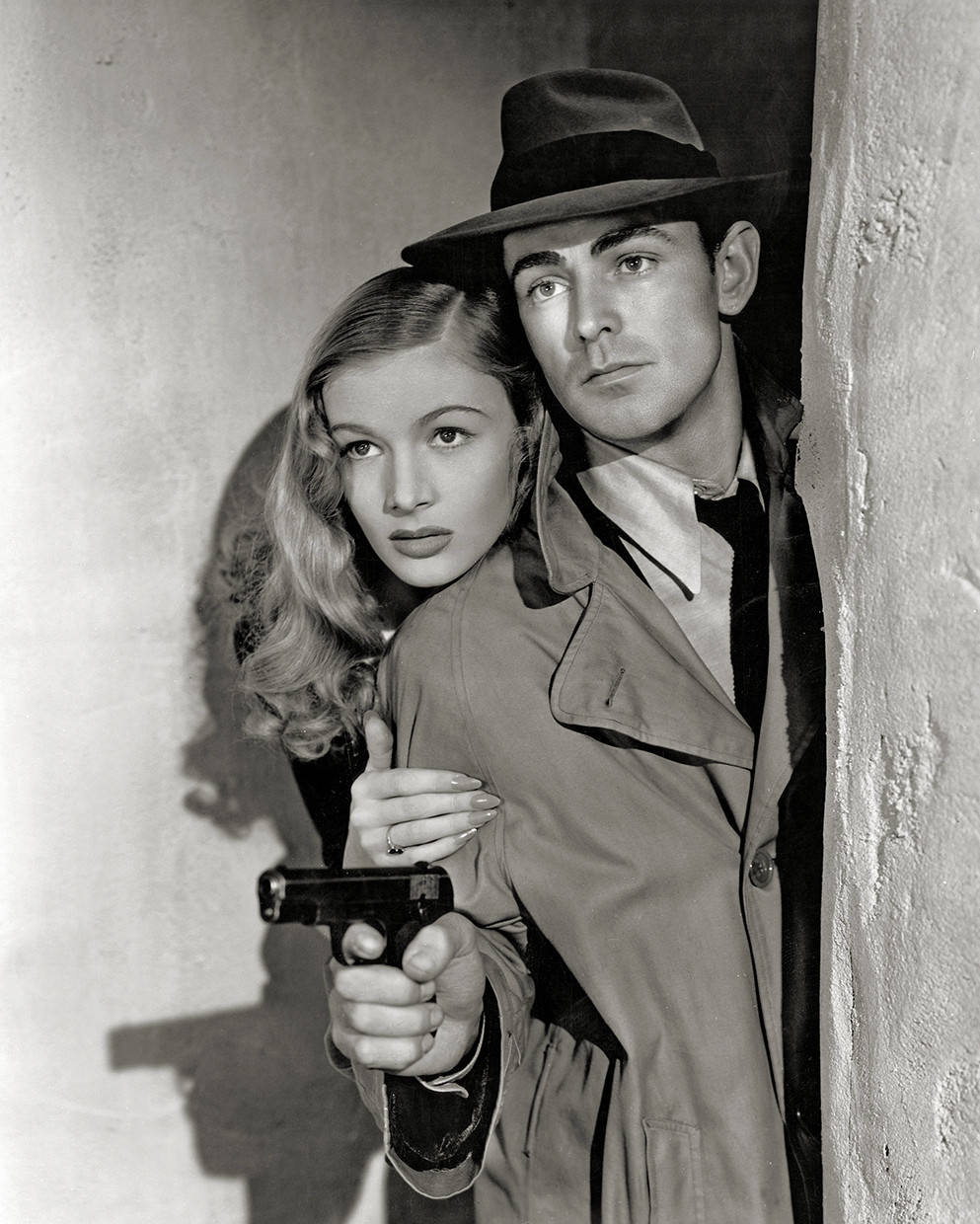 """Photo from the book """"Into the Dark: The Hidden World of Film Noir,"""