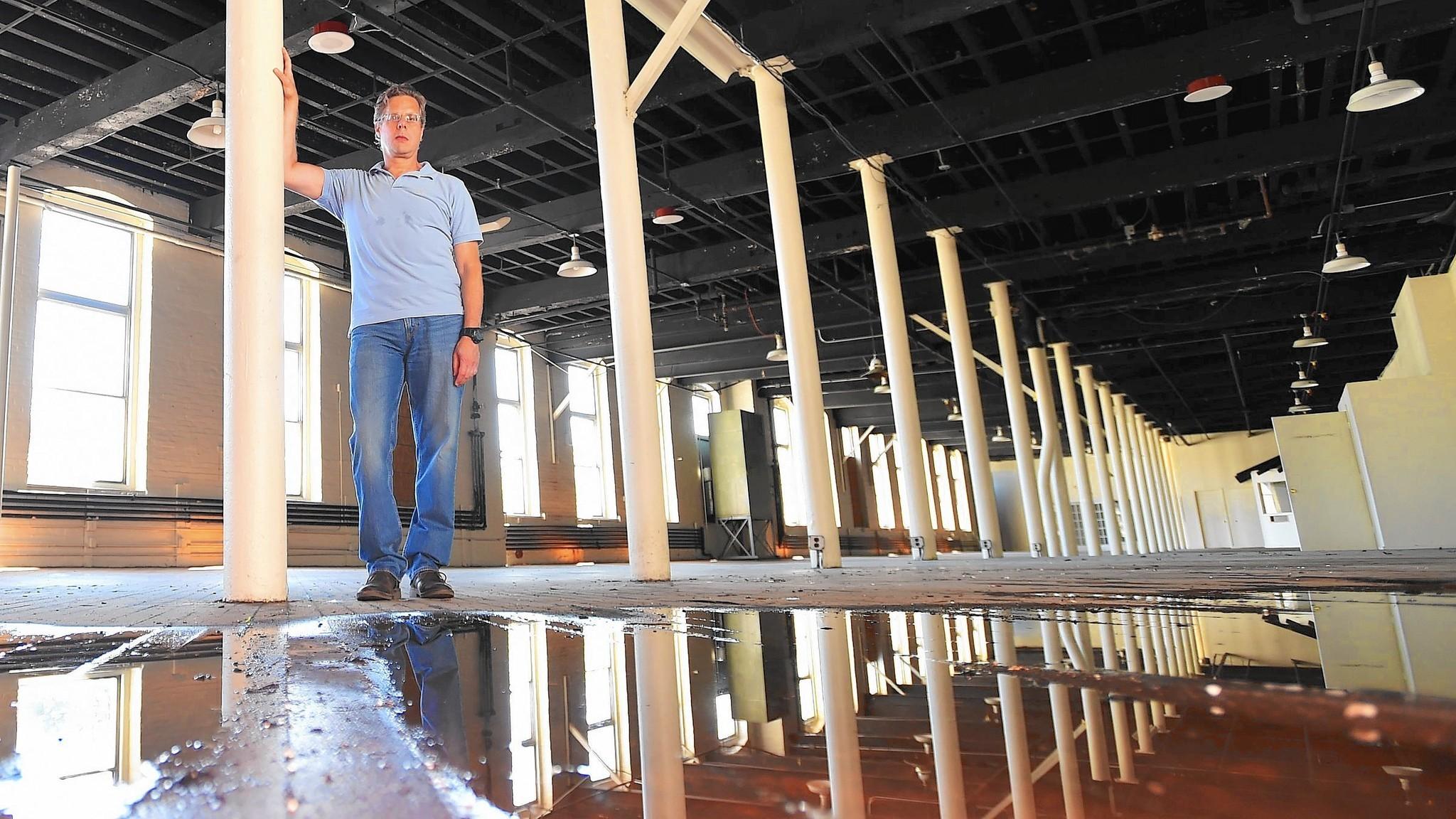 Developer Plans To Convert Massive Downtown Allentown Mill