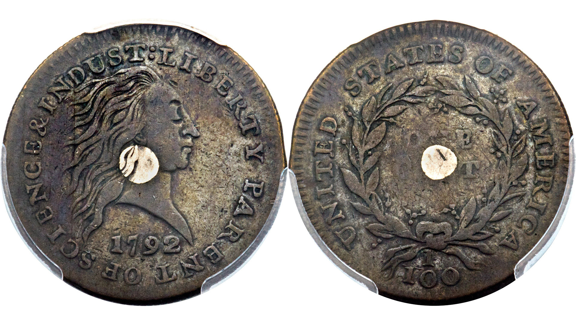2 early U.S. 1-cent coins sell for combined $869,500 ...