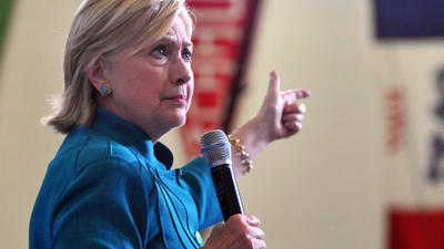 Hillary Clinton campaign responds to Justice Department investigation into Baltimore police