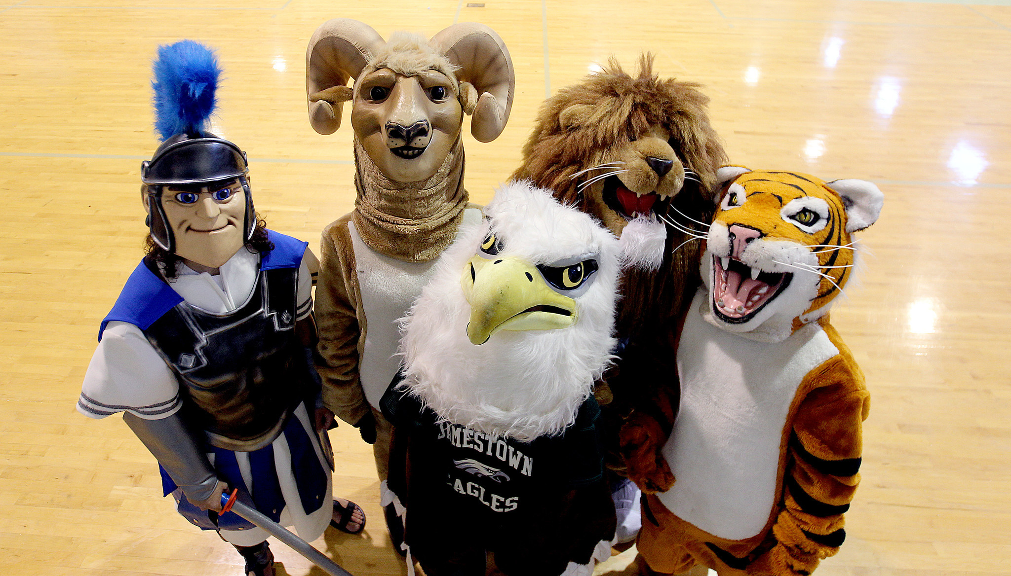 high school mascots daily press