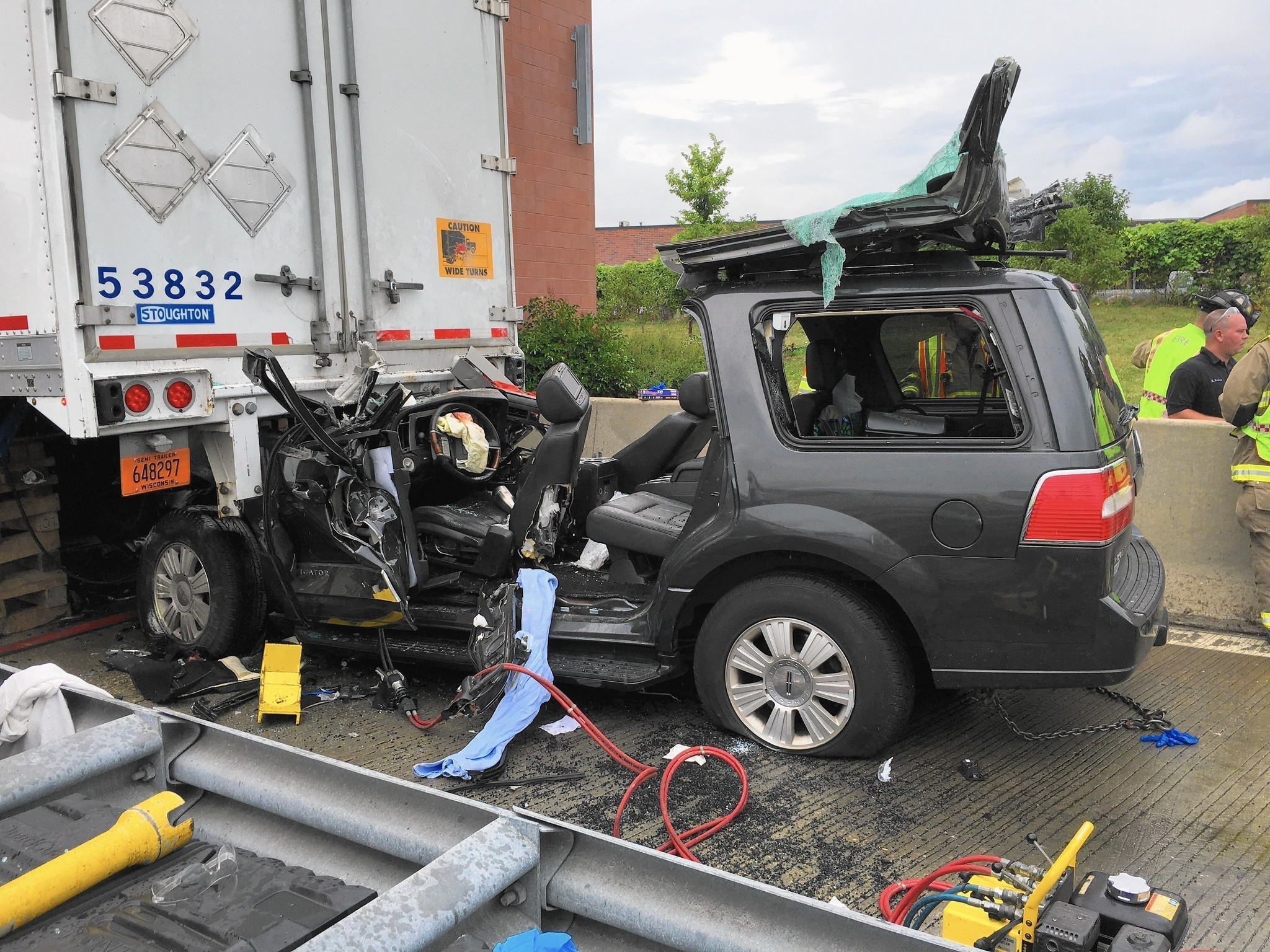 Car Crash Semi Truck