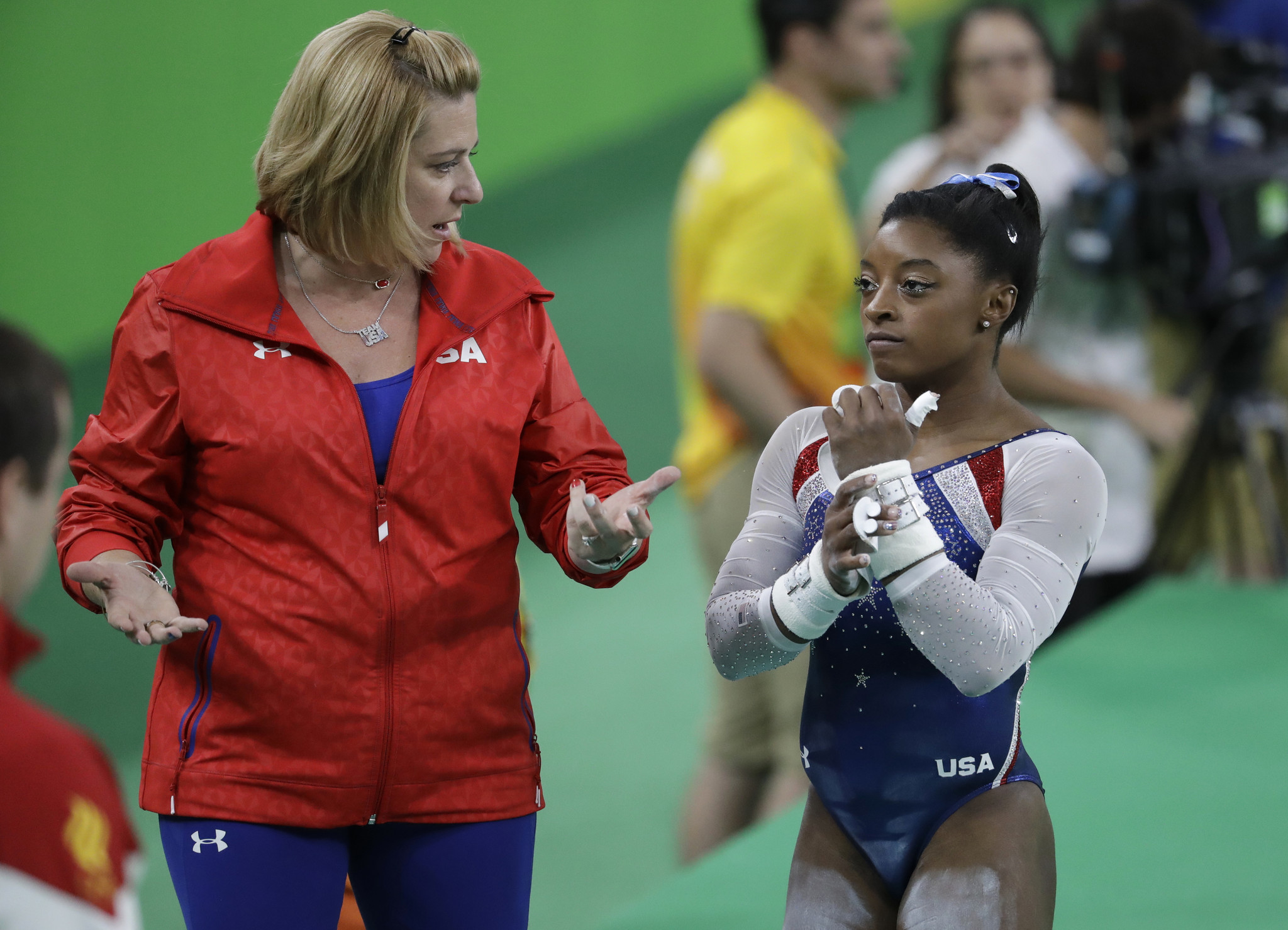 Aimee Boorman Simone Biles Coach Defends Jay Cutler