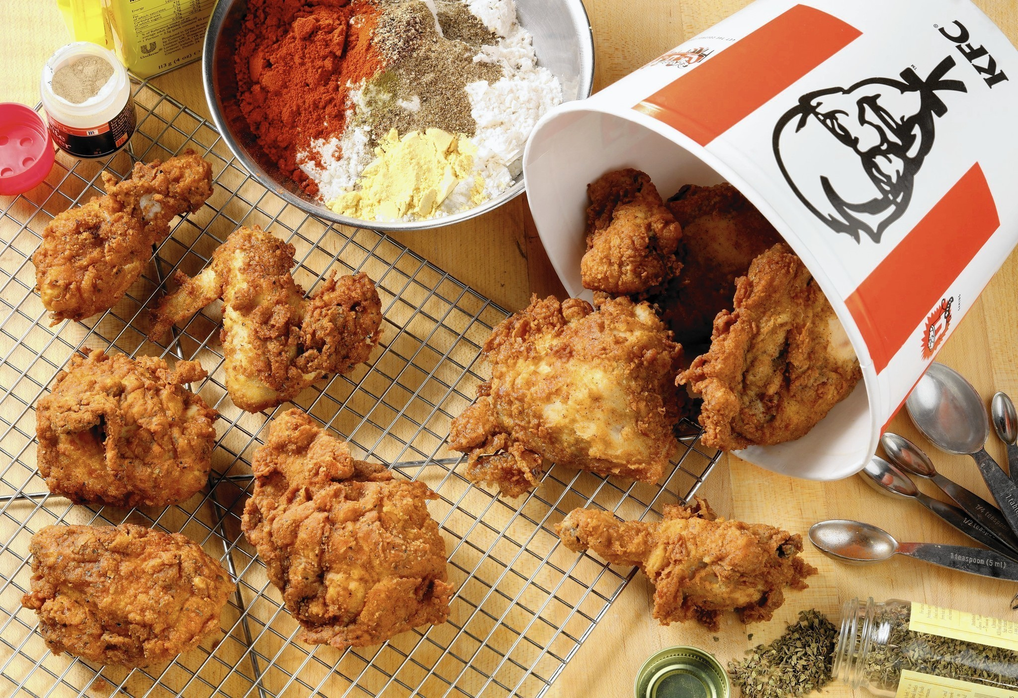KFC recipe challenge: Tribune kitchen puts the 11 herbs ... - photo#5