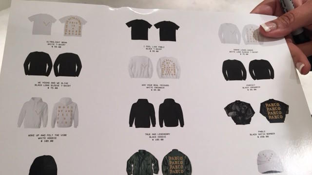 Kanye West Opens Pablo Pop Up Store In Northbrook Chicago Tribune
