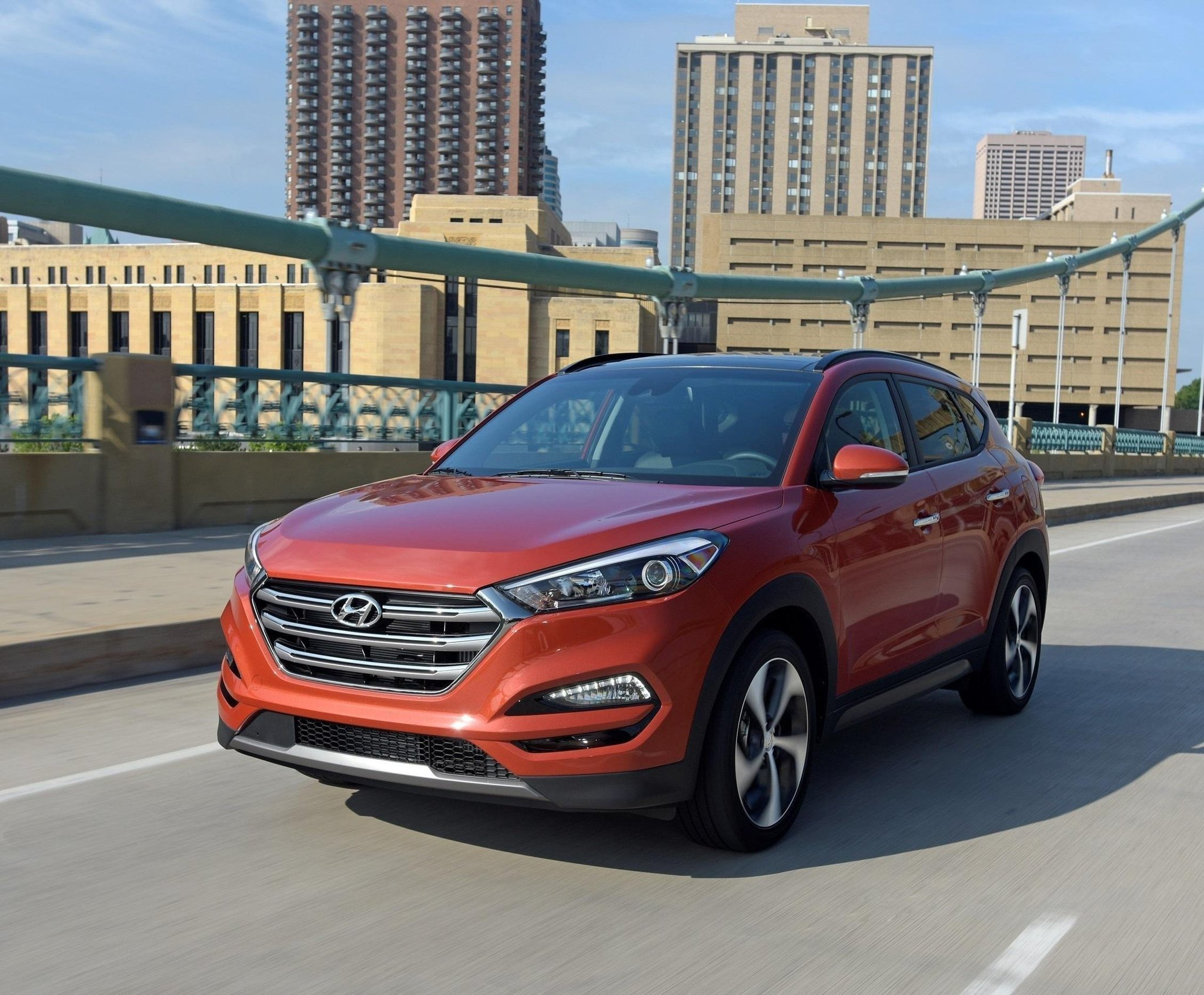The Redesigned 2016 Hyundai Tucson Packs Versatility Refinement But