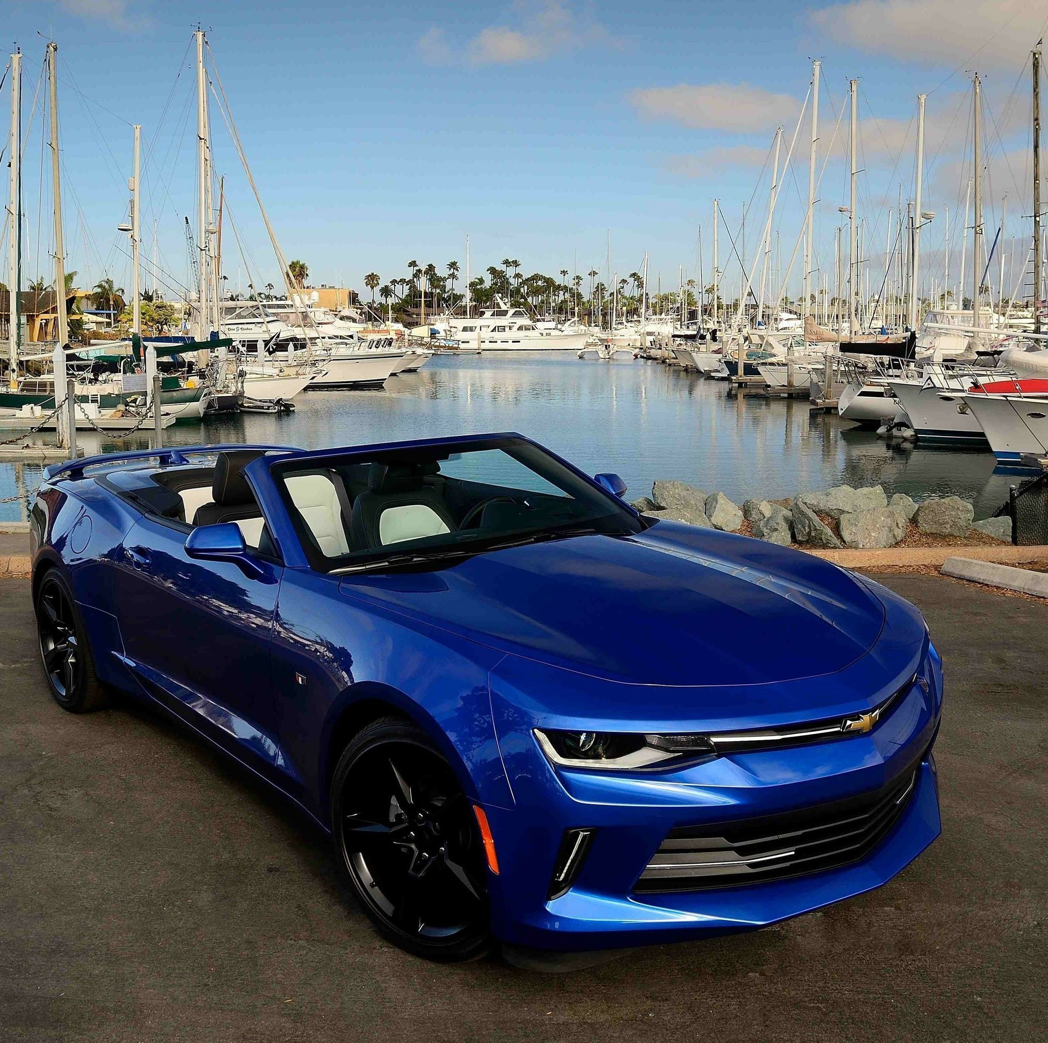 The 2016 Chevrolet Camaro Convertible Is A Dramatic