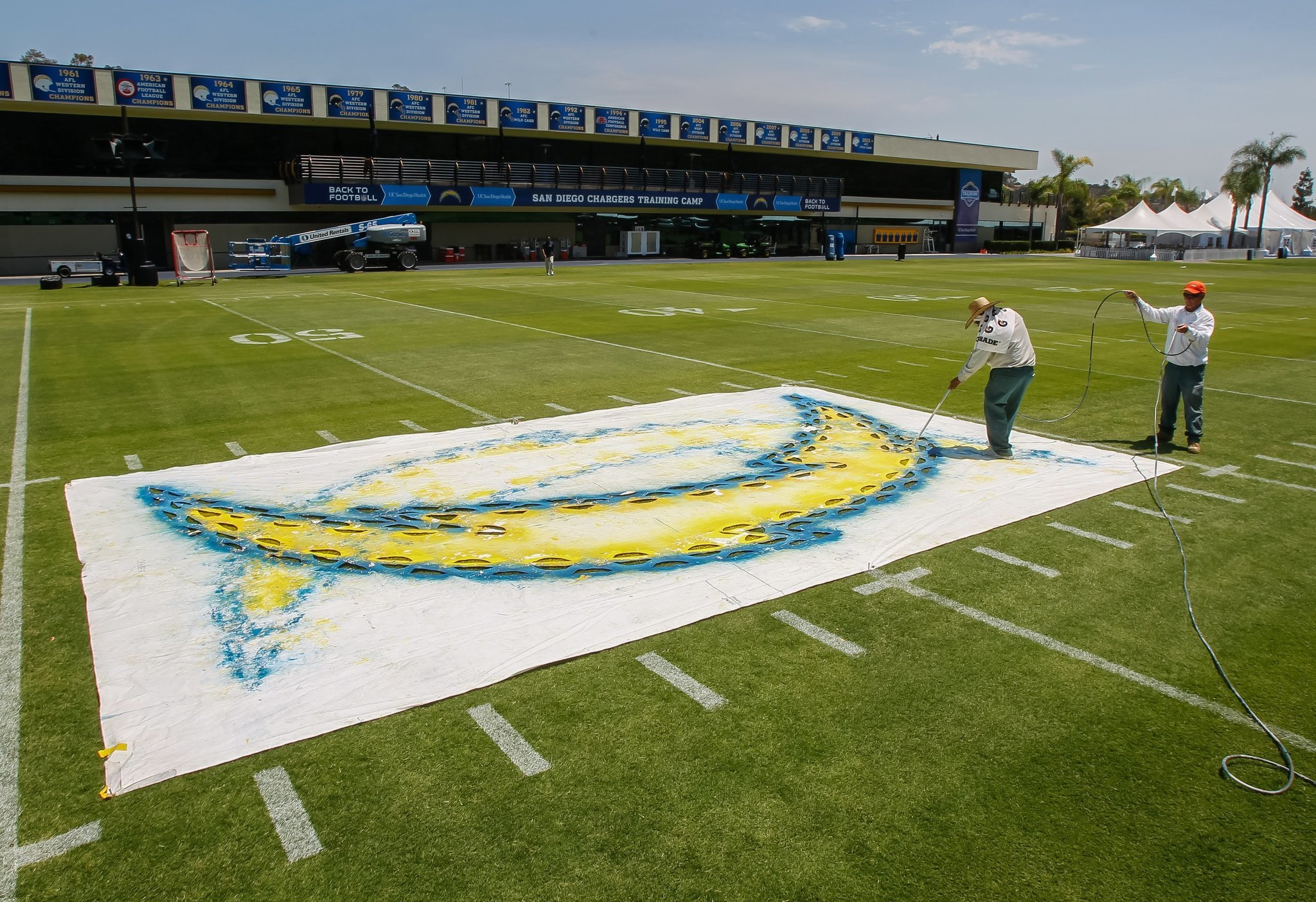 Final Preparation For Chargers Training Camp The San