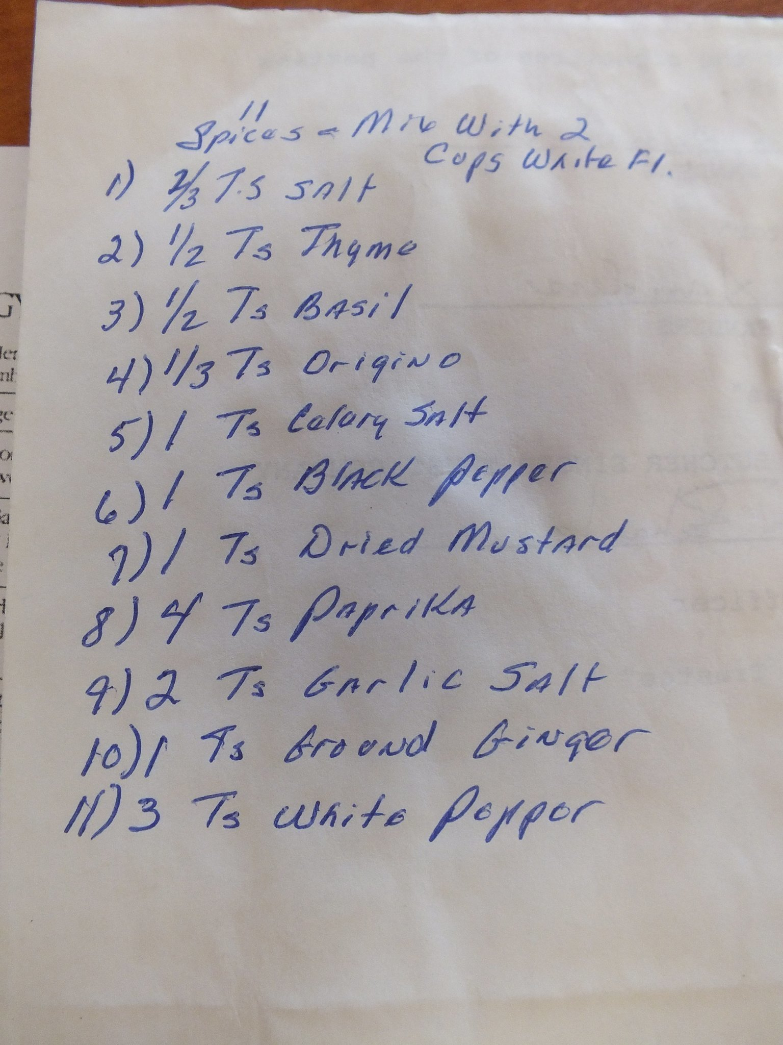 Kfc Recipe Revealed Tribune Shown Family Scrapbook With
