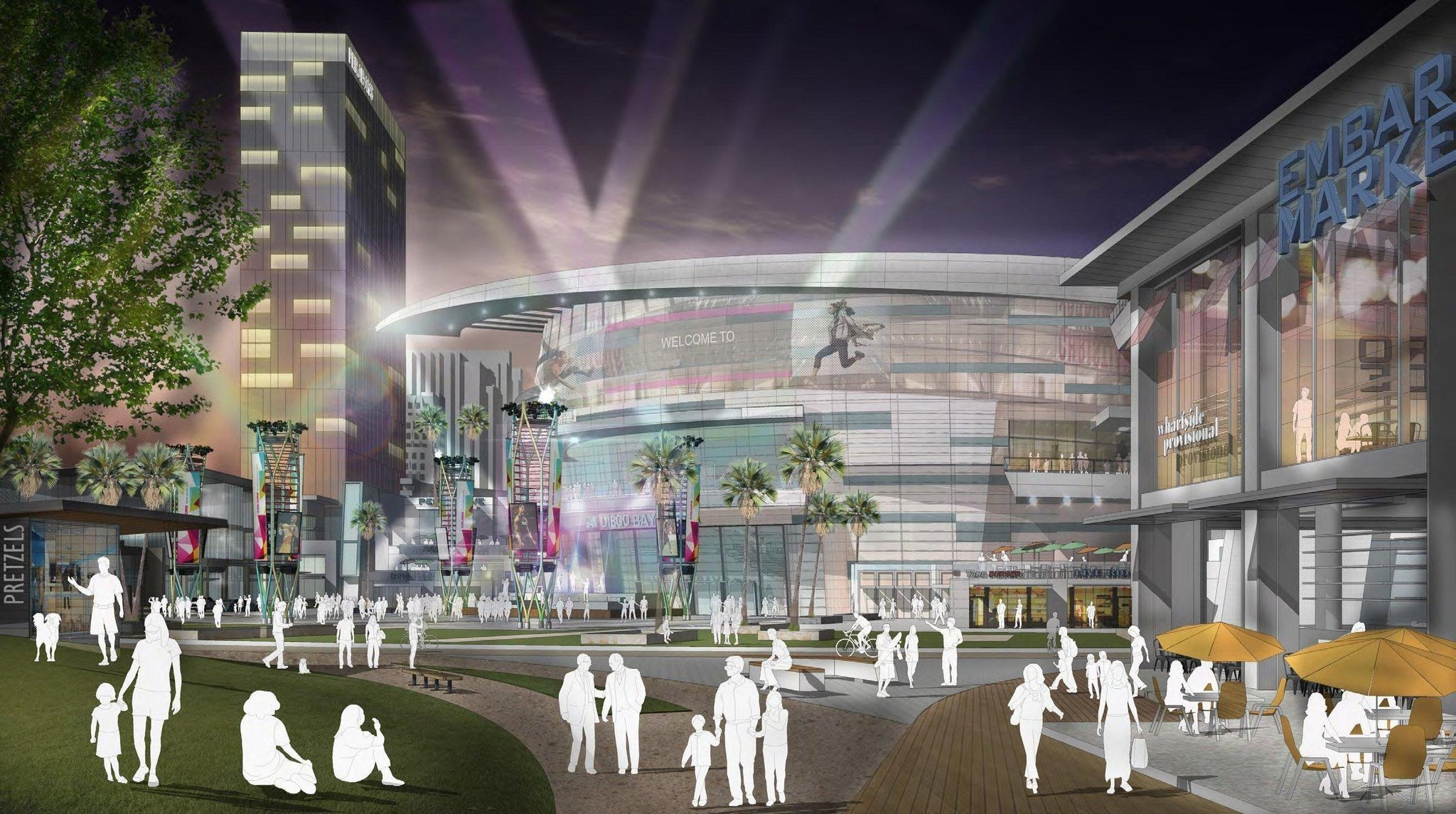 Proposed Seaport Village Arena Could Be A Changer The San Go Union Tribune