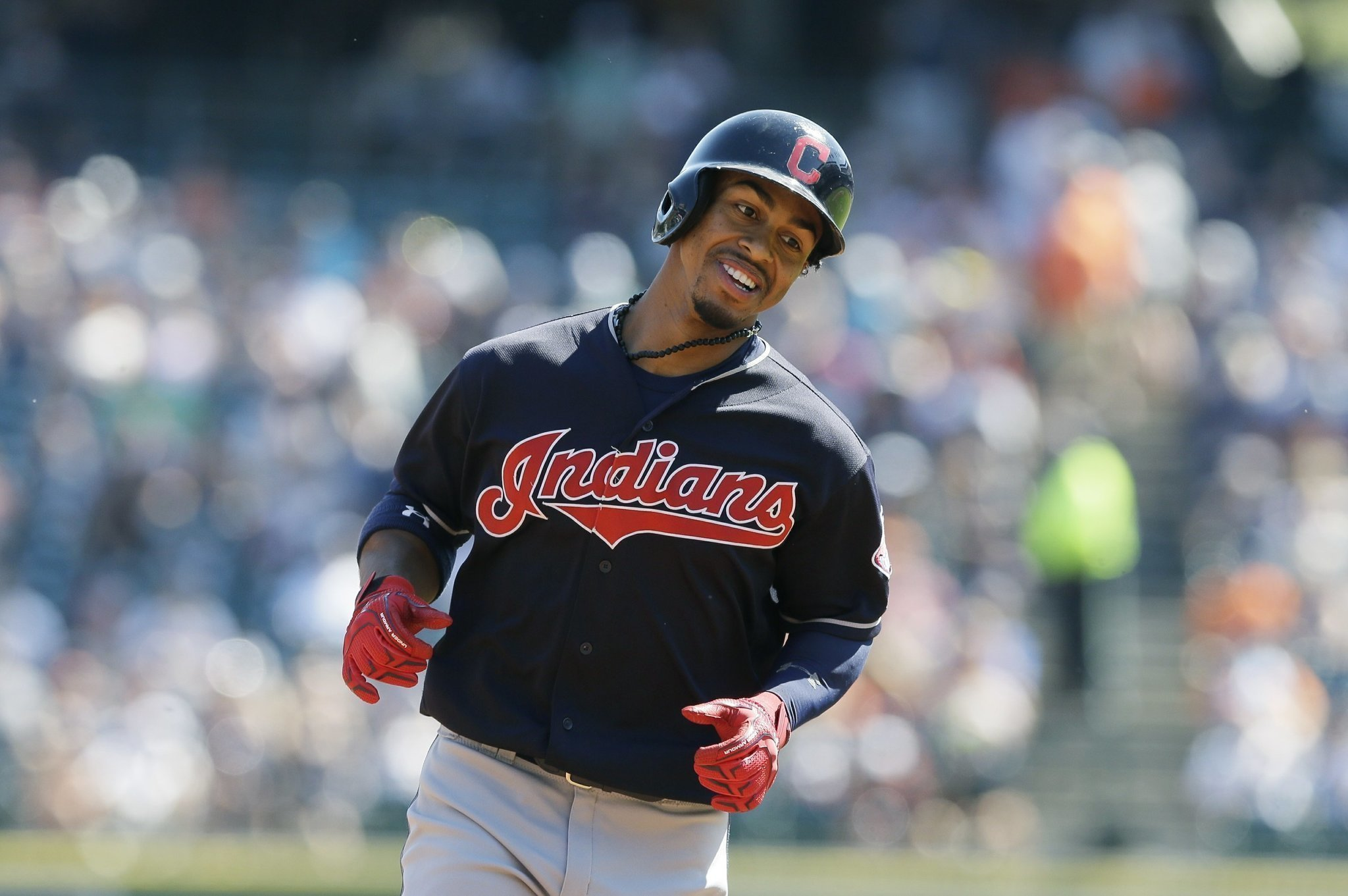 77bec487b96d Lindor's HRs, Carrasco's shutout help Indians win 8th in row - The ...