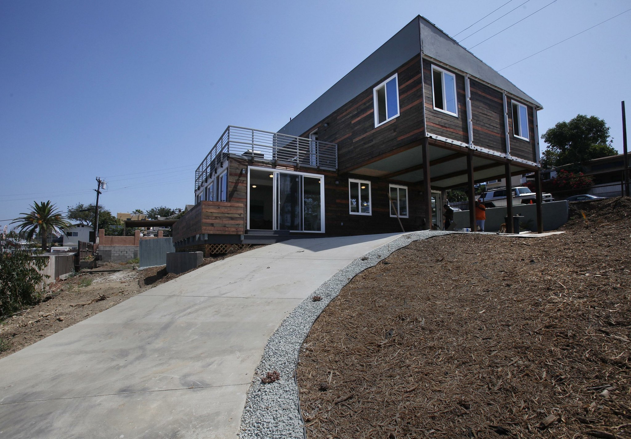 Two Story Homes San Diego Container Home Goes On Market For Nearly