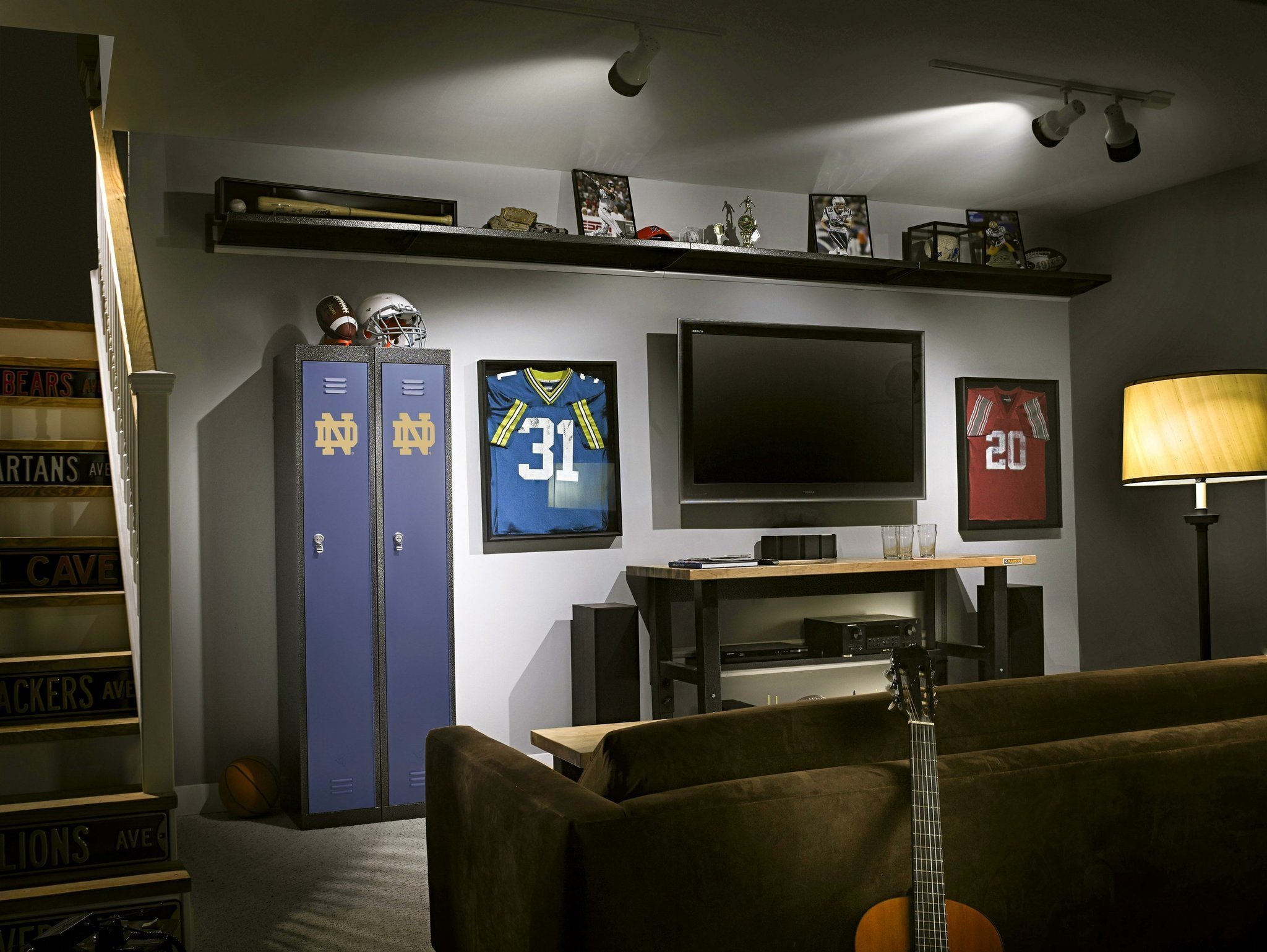 Golf Man Cave Ideas