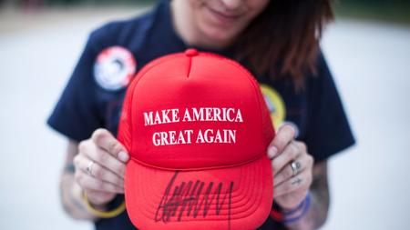 66e12386b08 Hats off to all you  Make America Great Again  satirists - The San ...