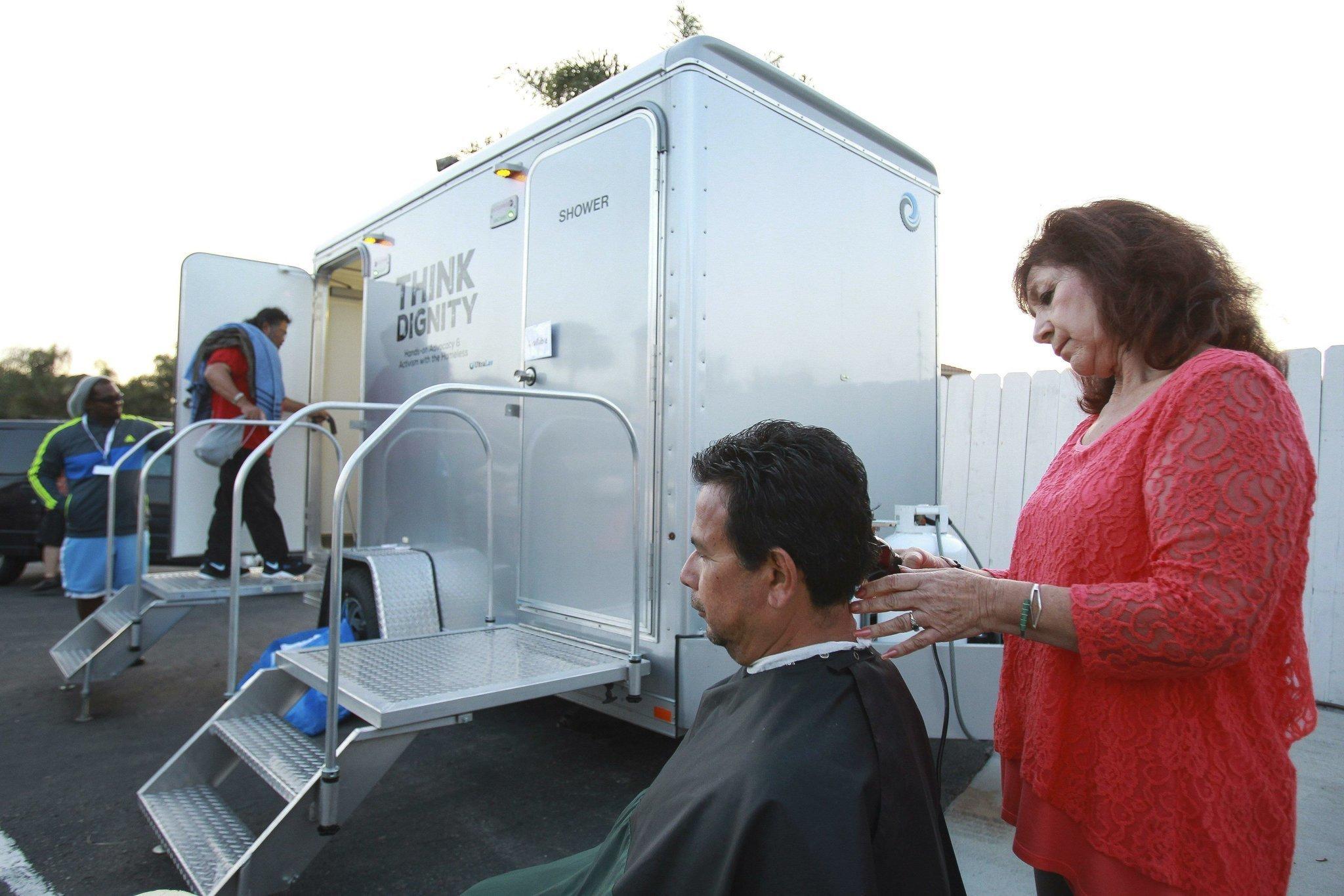 Mobile Shower Program Introduced At Chula Vista Center