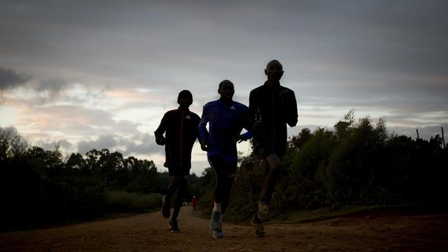 Image result for running at dawn in country