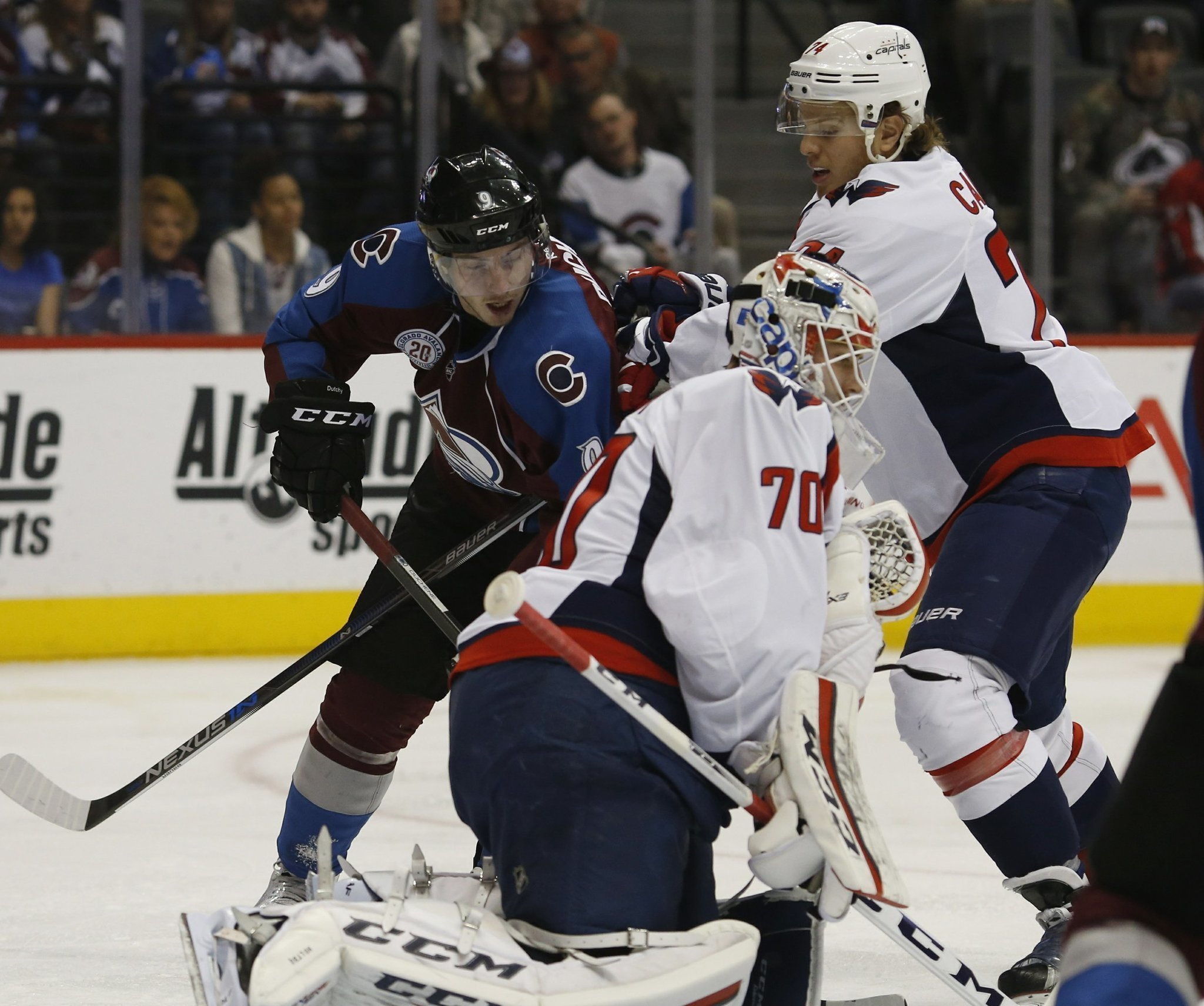 Capitals beat Avs 4-2 for franchise-record 55th win of year - The San Diego  Union-Tribune 0ad789d60f4a