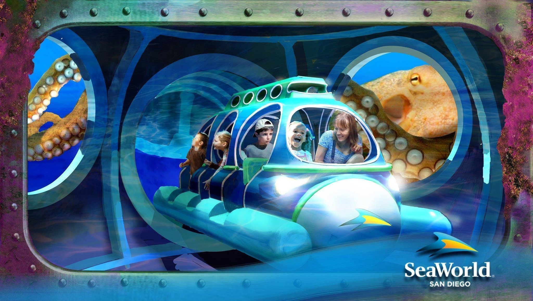 Seaworld San Go Unveils Aquarium Attraction That Features 5 Rides