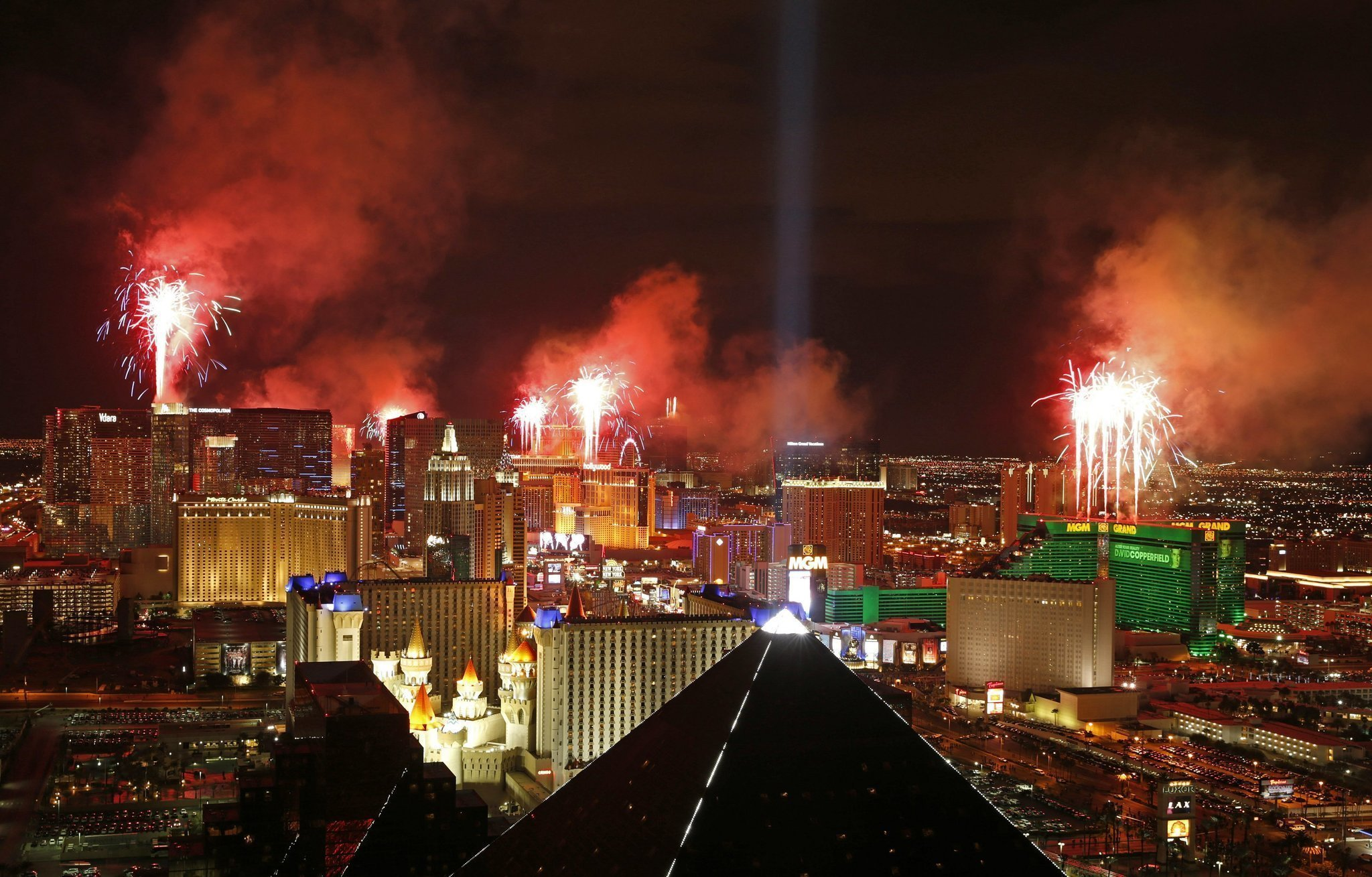 security gets boost for new years eve in las vegas the san diego union tribune