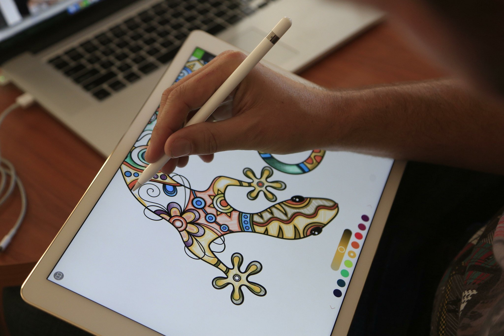 Pigment Is A Lifelike Adult Coloring Book App For Ios The San