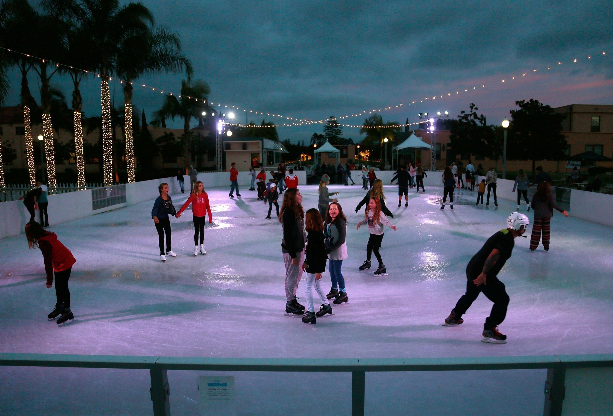 A Guide To San Diego U2019s Outdoor Ice-skating Rinks
