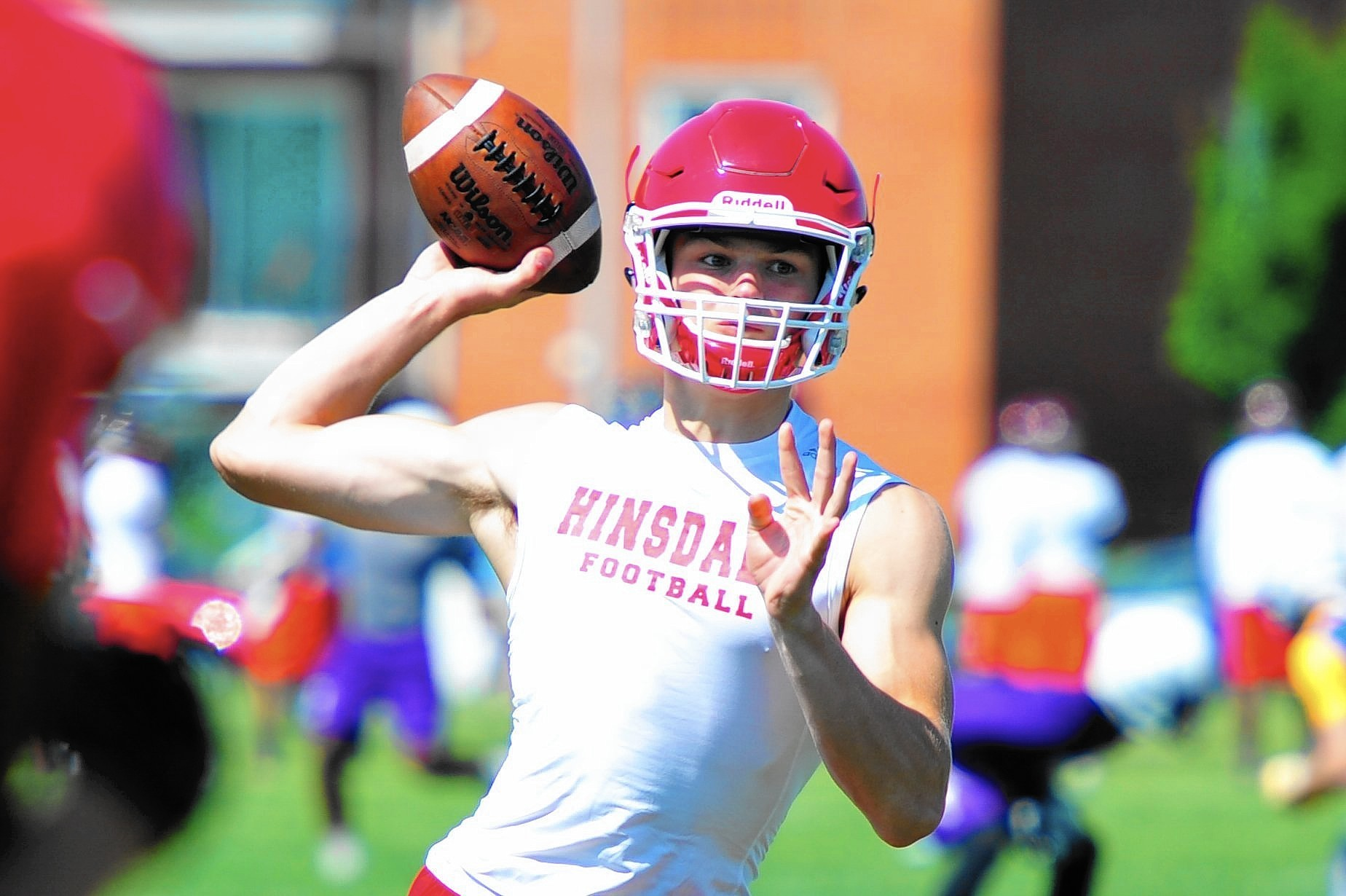 Pioneer Press Football Preview Hinsdale Central Red Devils The