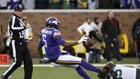 8a40a517c Vikings struggle on big stage again in 30-13 loss to Packers. The San Diego  Union-Tribune