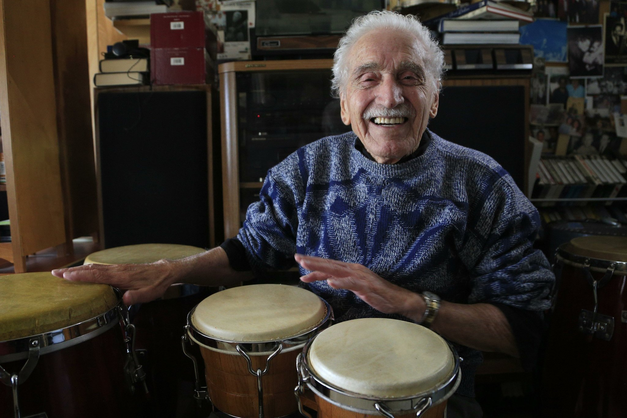 Pioneering percussionist Jack Costanzo drums on at 96 ...