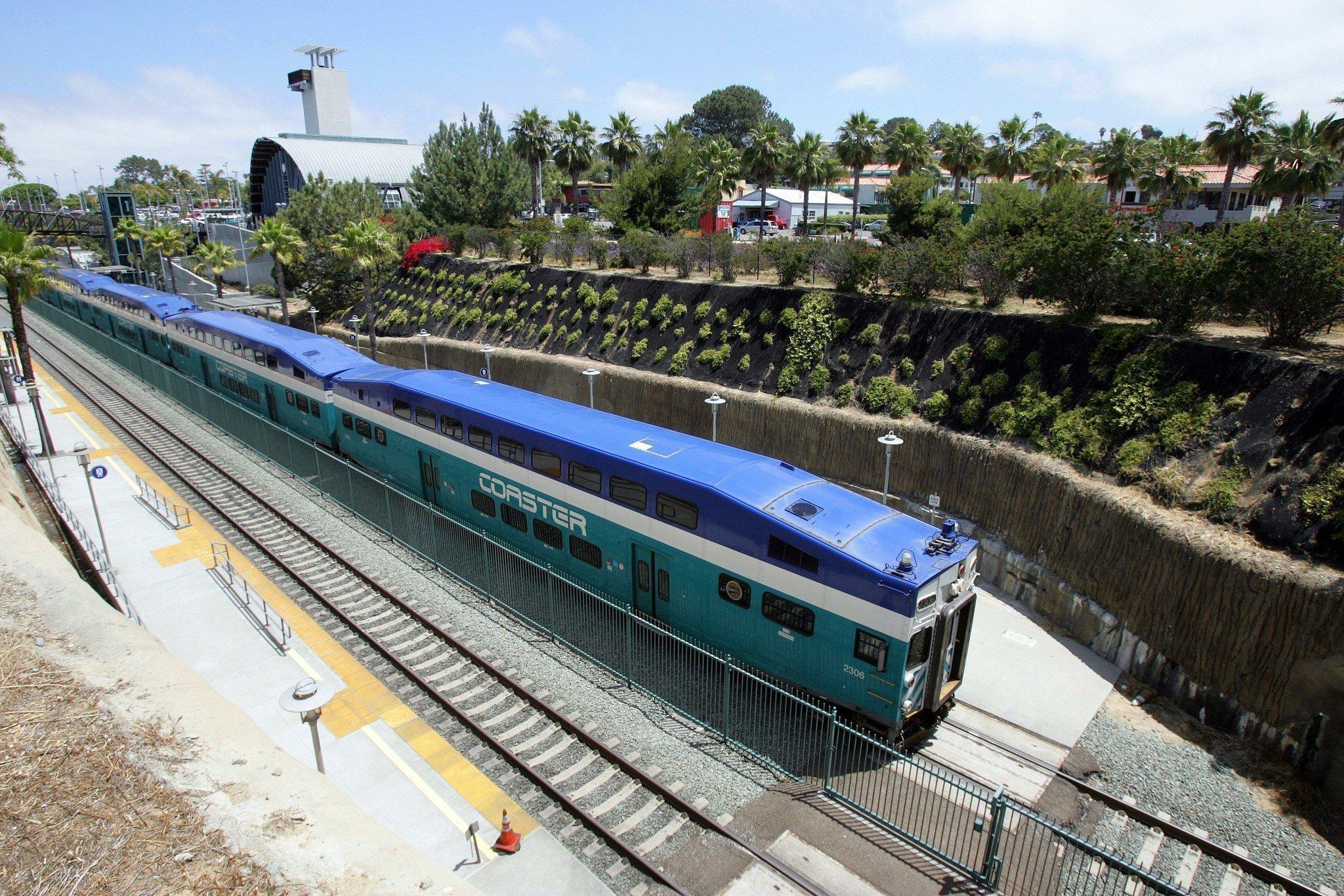 Solana Beach Train Station Back On Track The San Go Union Tribune