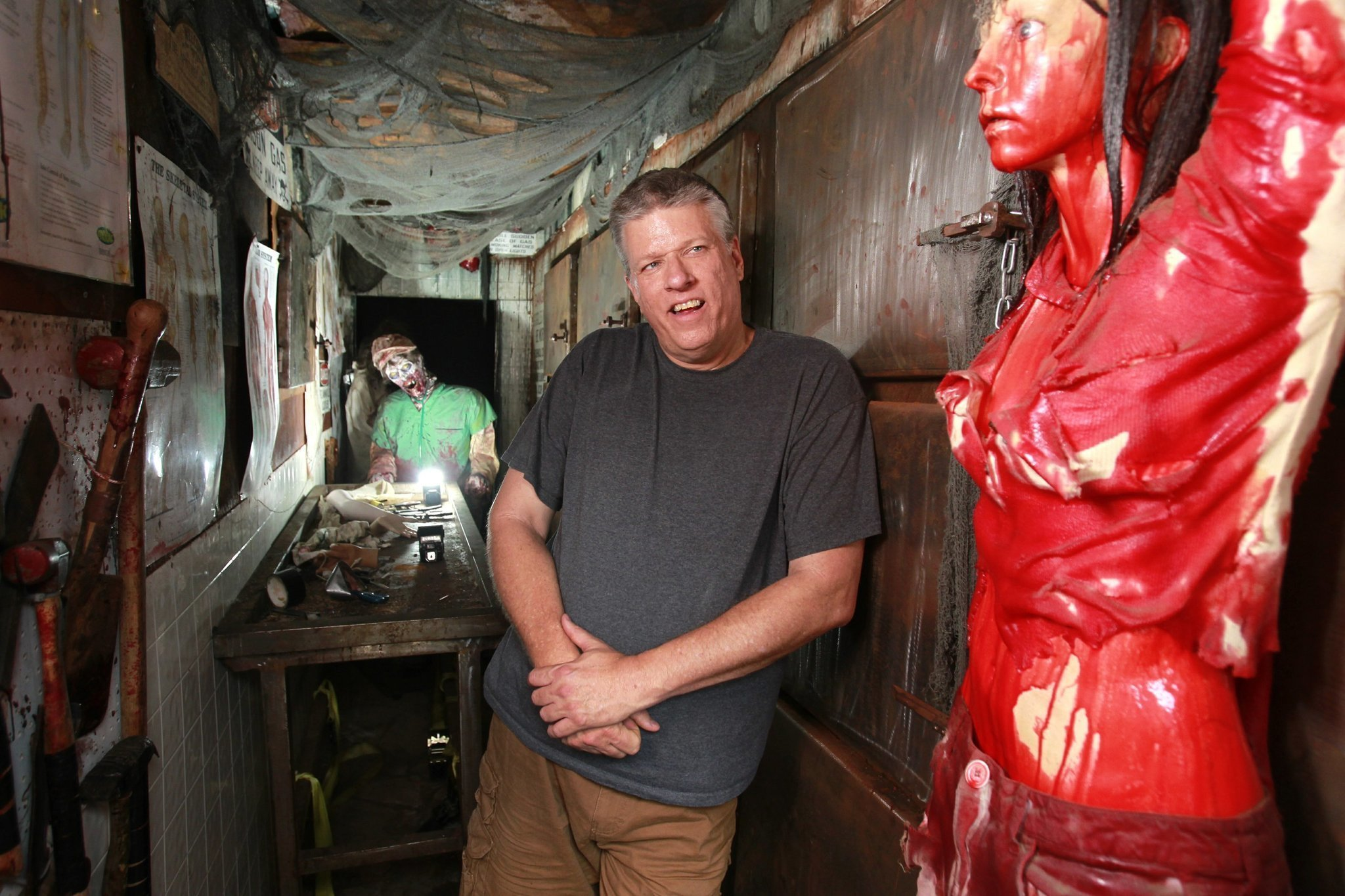 Mckamey Manor Extreme Haunted House Is Back In San Diego The San