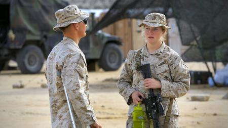 Why do women love marines