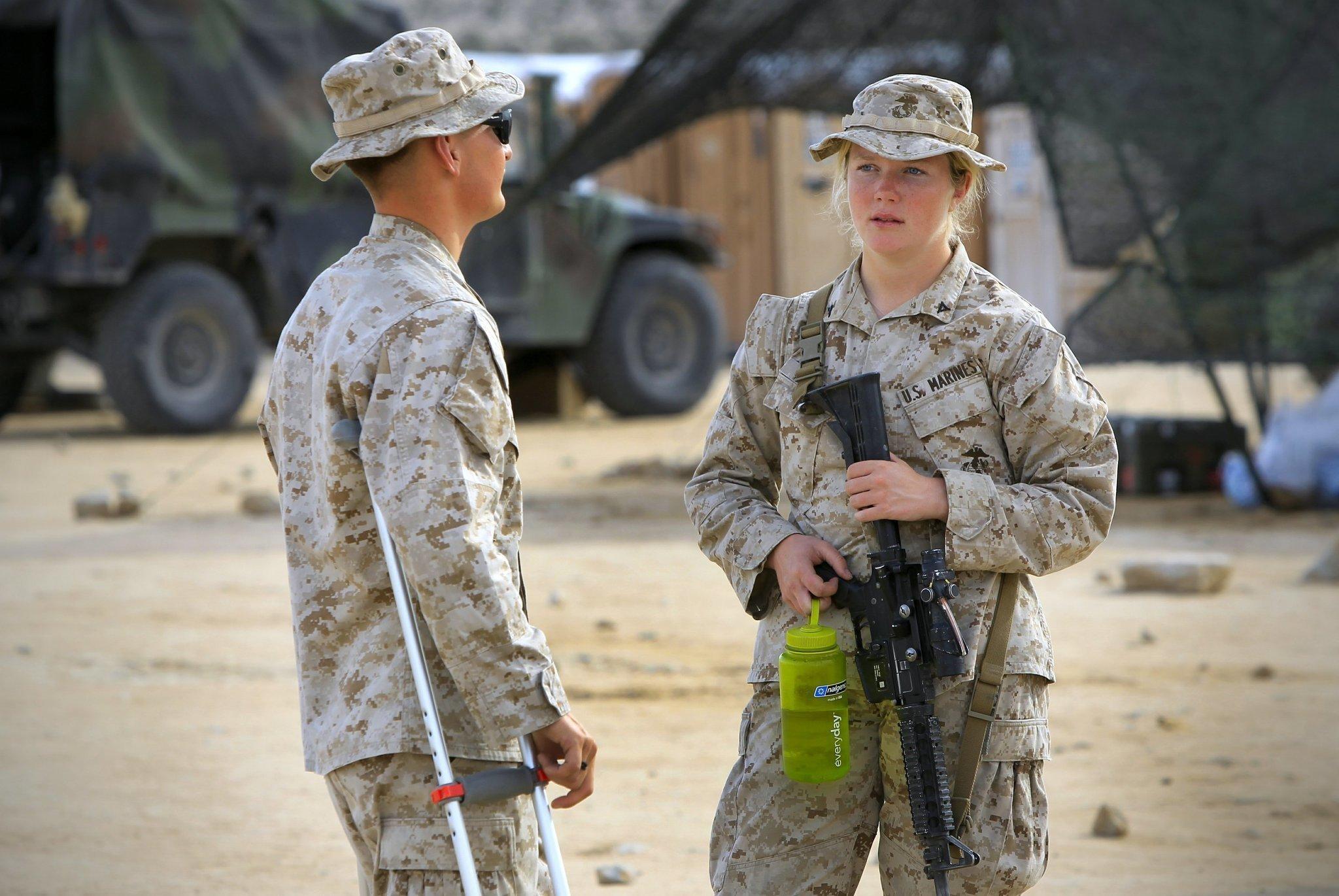 Should women serve in combat