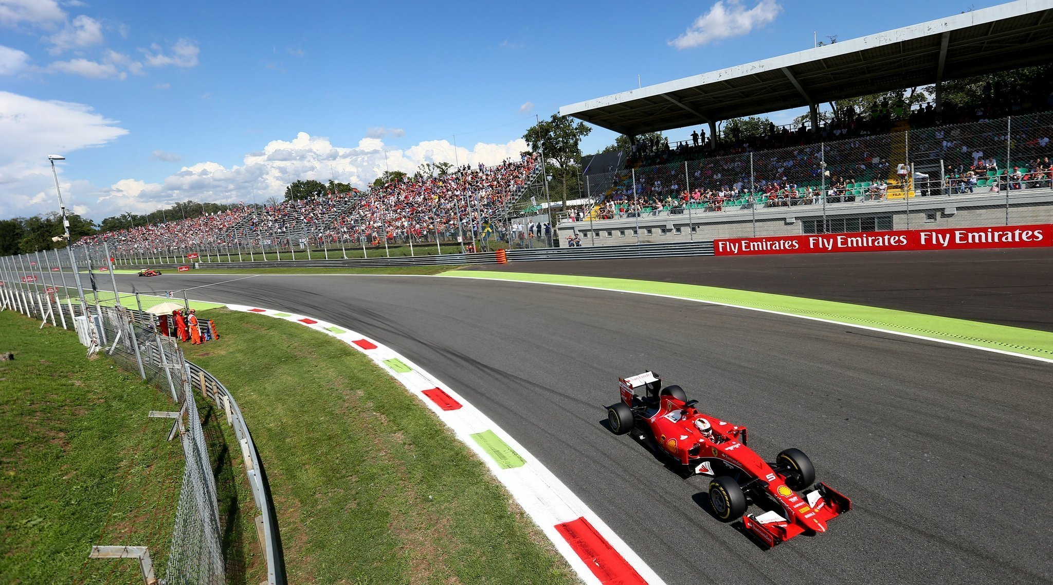 Ferrari Narrows Gap As Overhaul Starts To Pay Off At Monza The San Vettel Expects Indian Circuit Be Secondfastest F1 Track Diego Union Tribune
