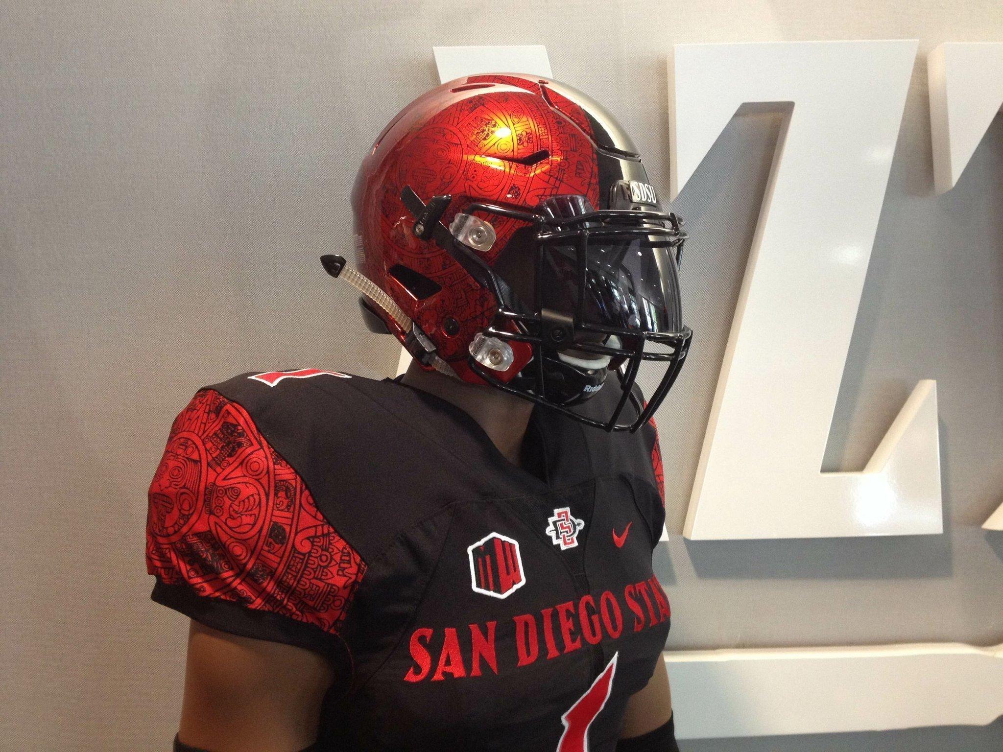 History lives on new Aztecs uniforms - The San Diego Union-Tribune e9934ab00