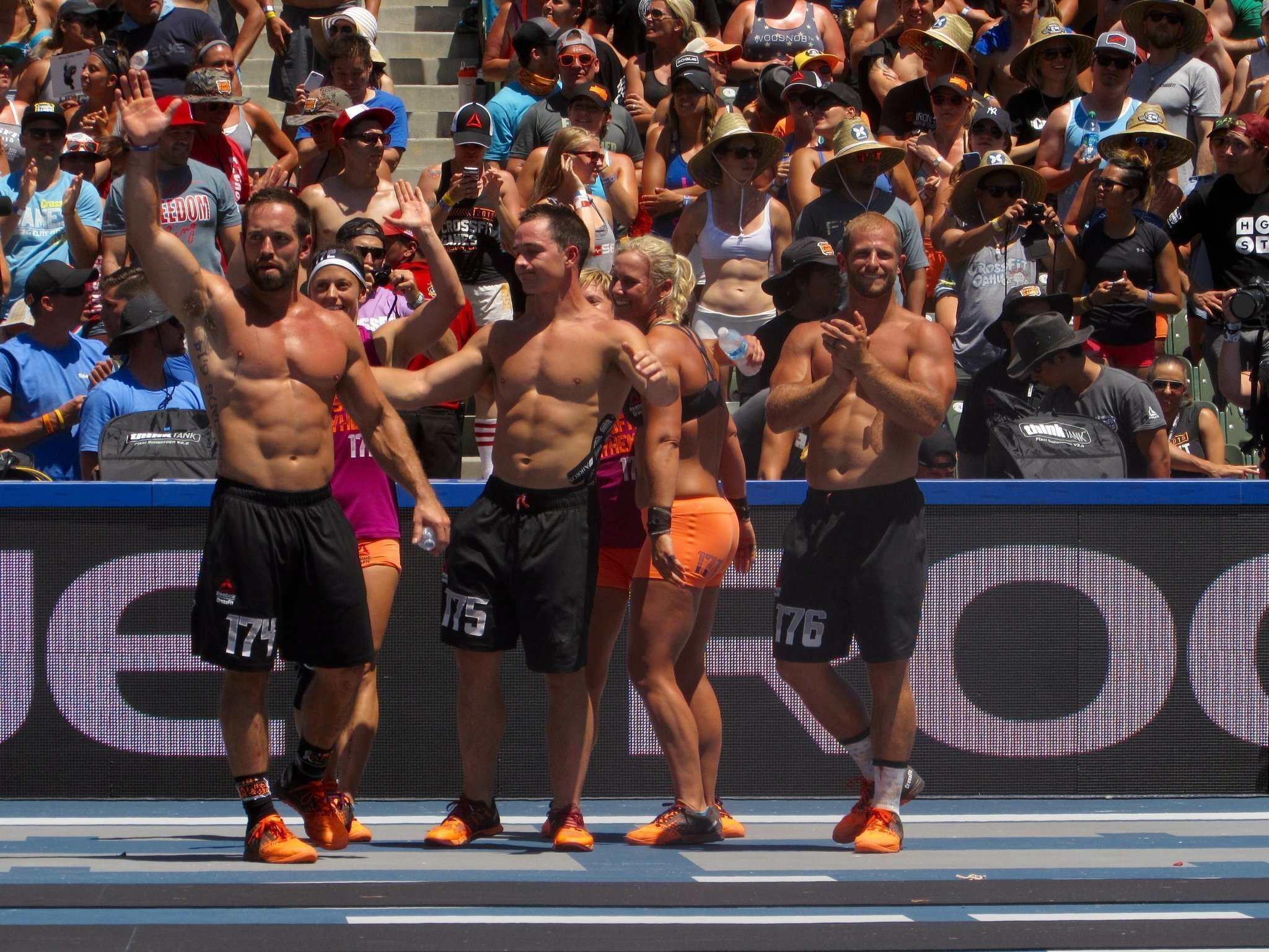 rich froning leads team to victory at crossfit games the san diego