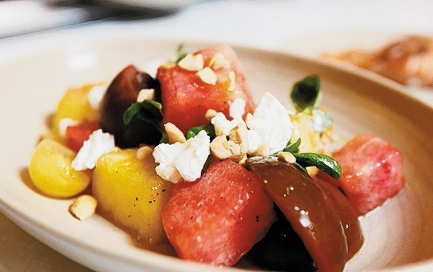 True Food Kitchen Watermelon Salad