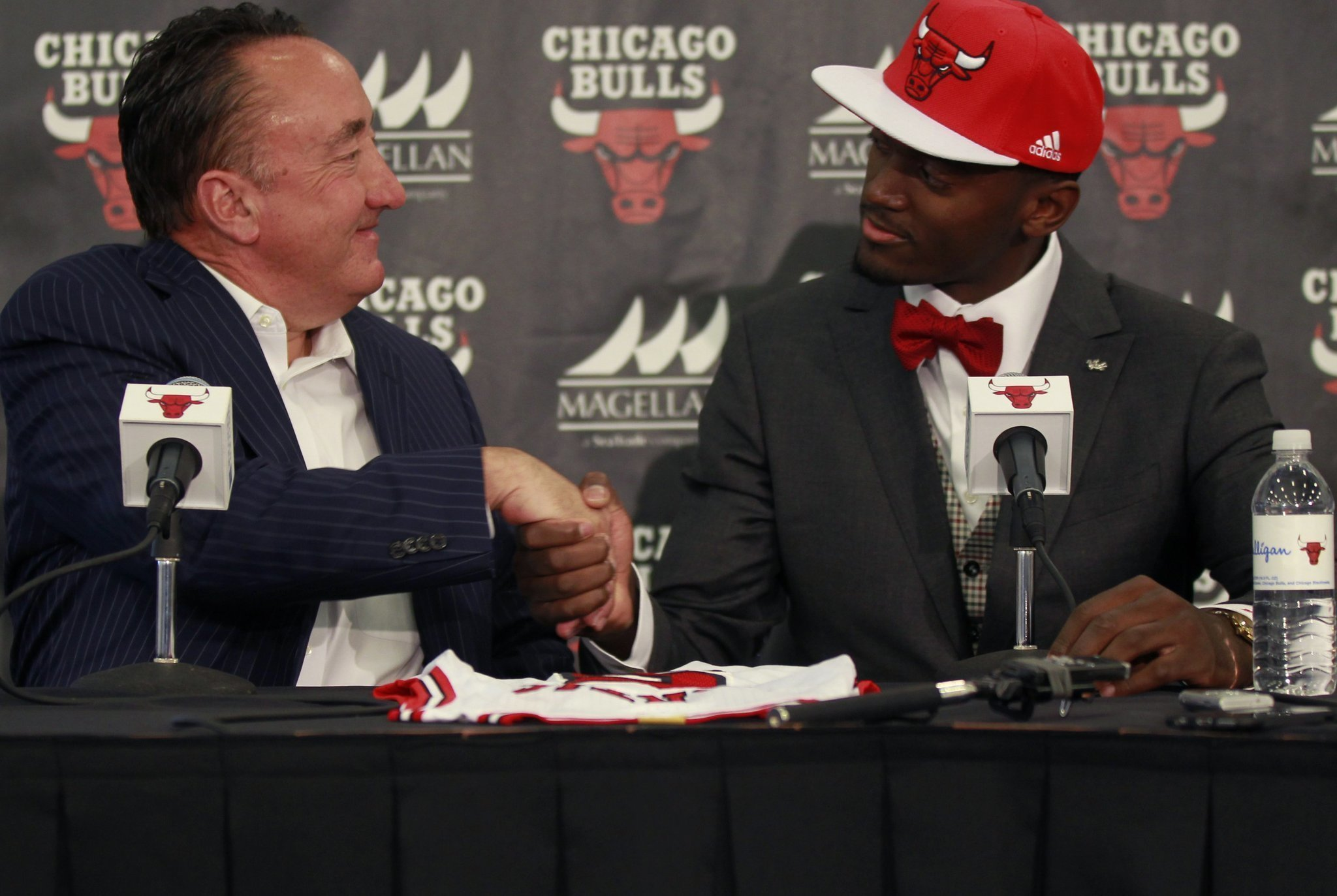 Chicago Bulls introduce first round pick Bobby Portis - The San Diego  Union-Tribune b063b1a27