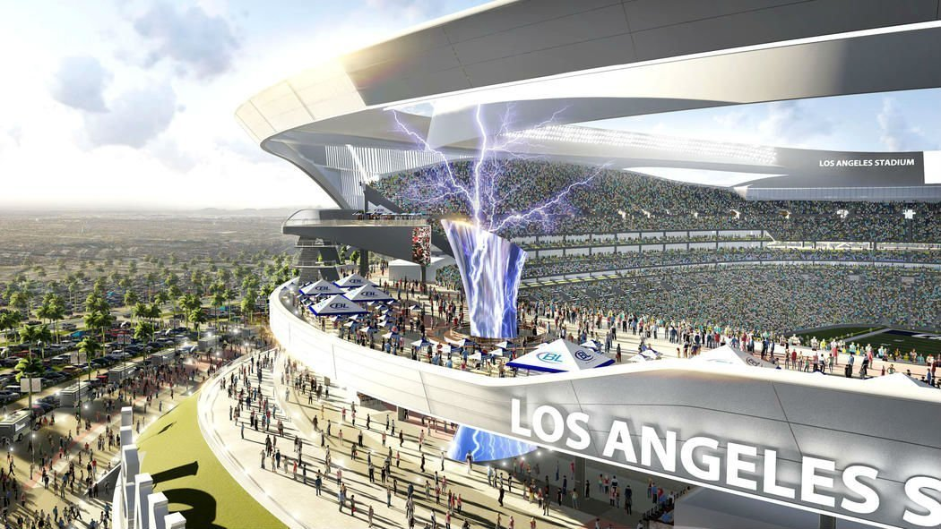 New Chargers Raiders Stadium Design Released The San