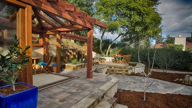 Good A Backyard Retreat In The Scripps Ranch Poway Area Includes A  Craftsman Style Solarium