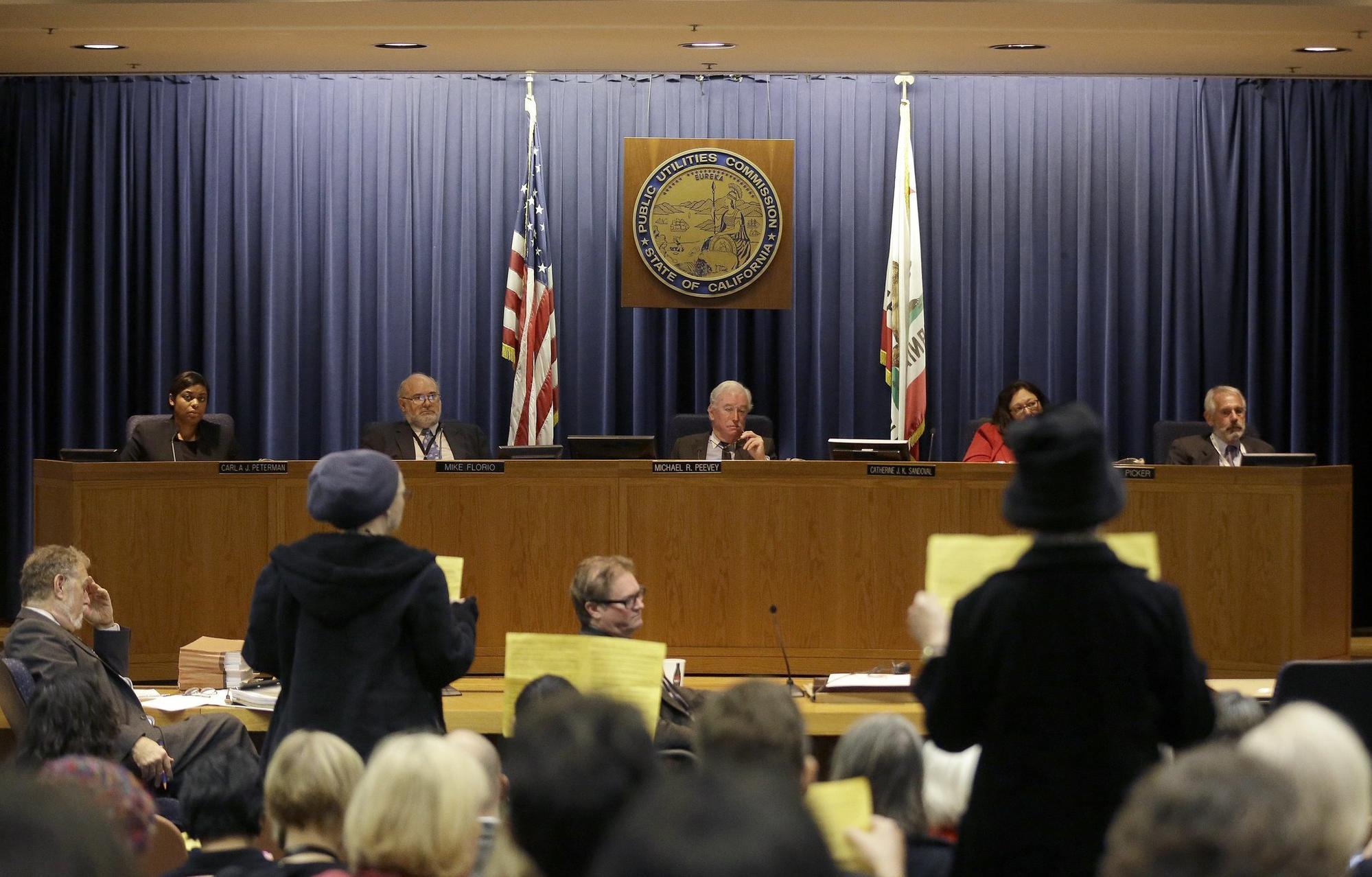 The California Public Utilities Commission. [AP]