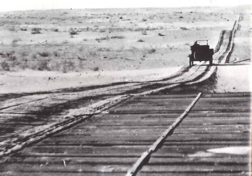 Remembering Plank Road Across Imperial Dunes The San