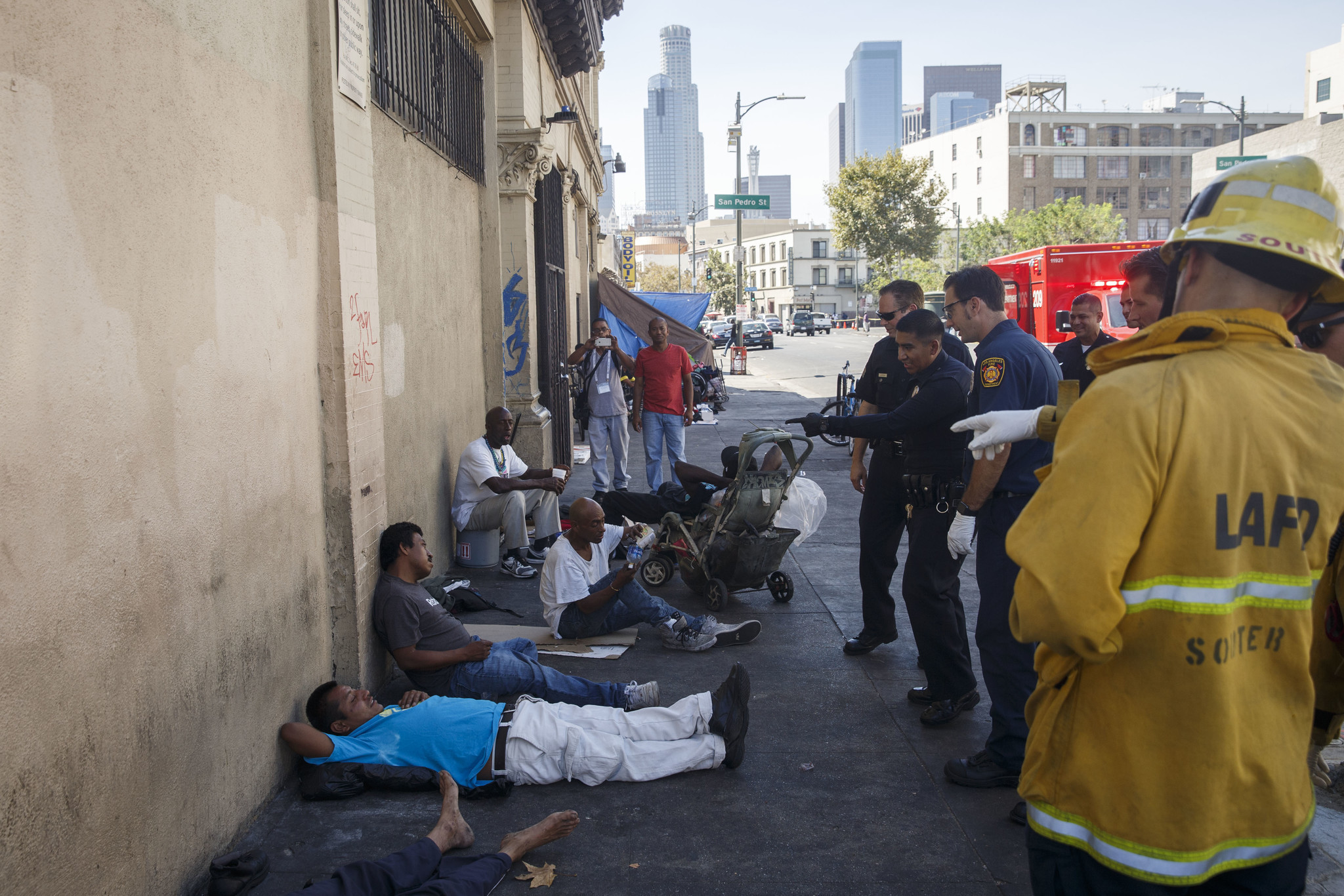 Gentrification on skid row? We should be so lucky - LA Times