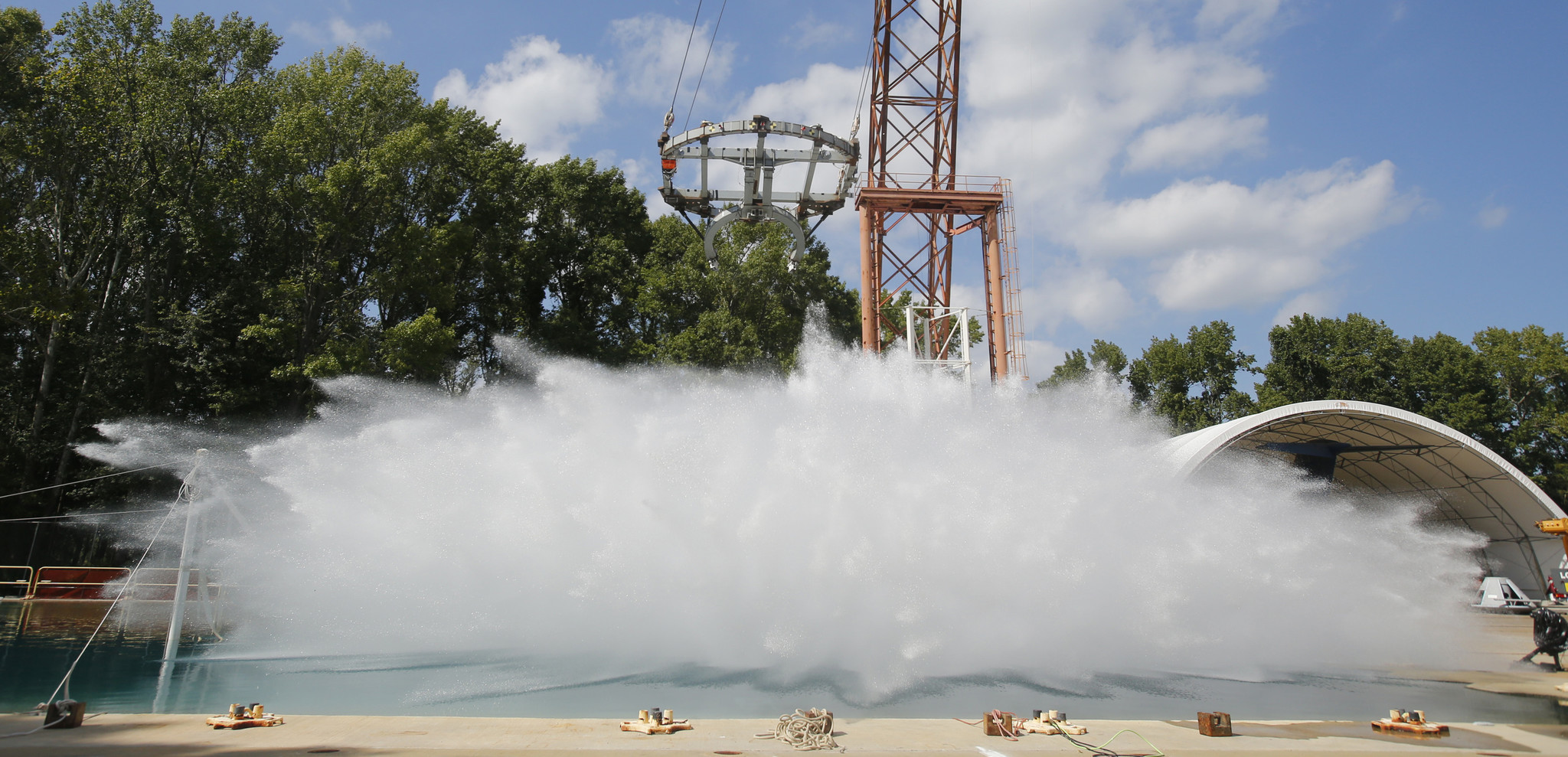 Spacecraft cannonball: NASA conducts splashdown tests for ...