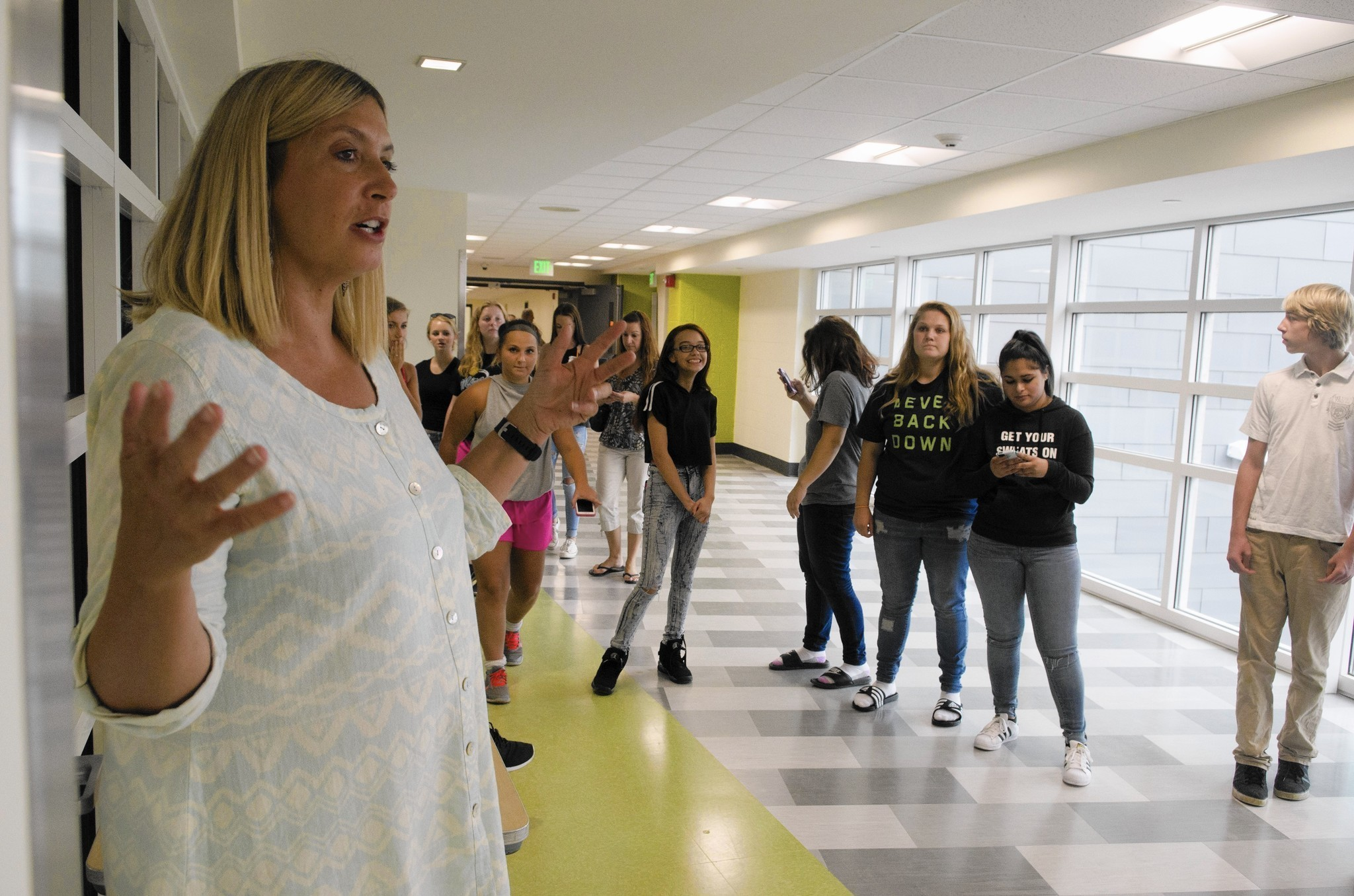Enfield High School Students Get First Look At Renovated
