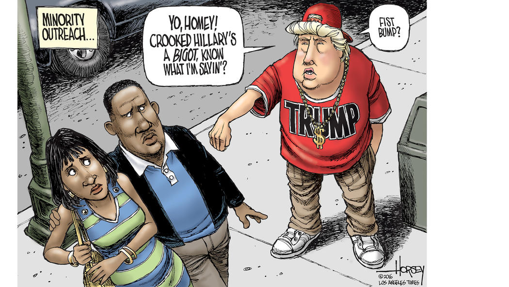 Bigots Denounce Trump – No Harm Spilt
